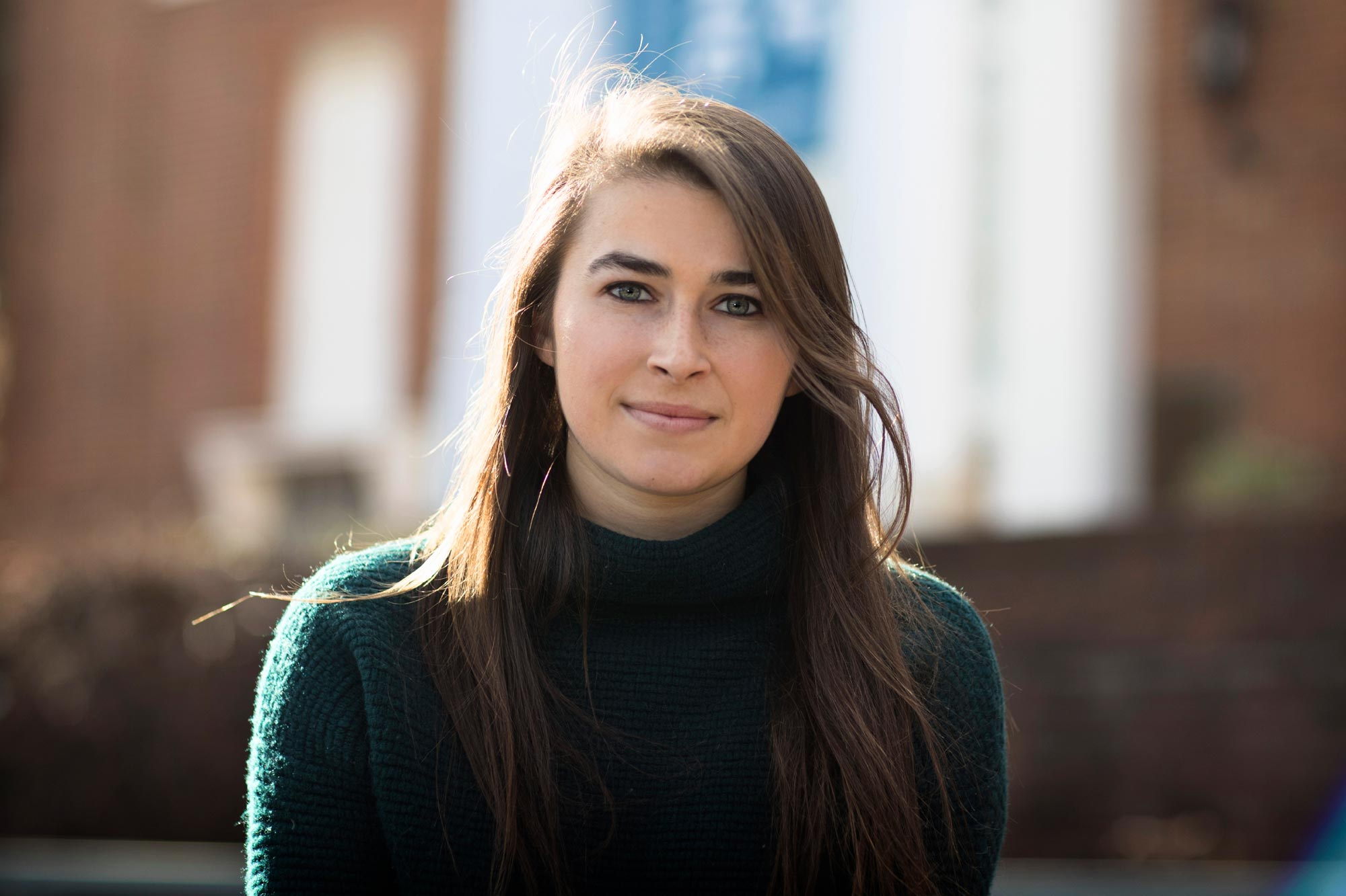 Emily Cox will study at the University of Oxford as UVA's first participant in the Mica and Ahmet Ertegun Graduate Scholarship Programme in the Humanities.