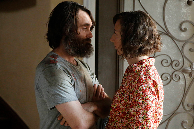 """Will Forte, head writer and star, plays Tandy """"Phil"""" Miller, who meets his future wife Carol Pilbasian, played by Kristen Schaal, in """"The Last Man on Earth."""""""