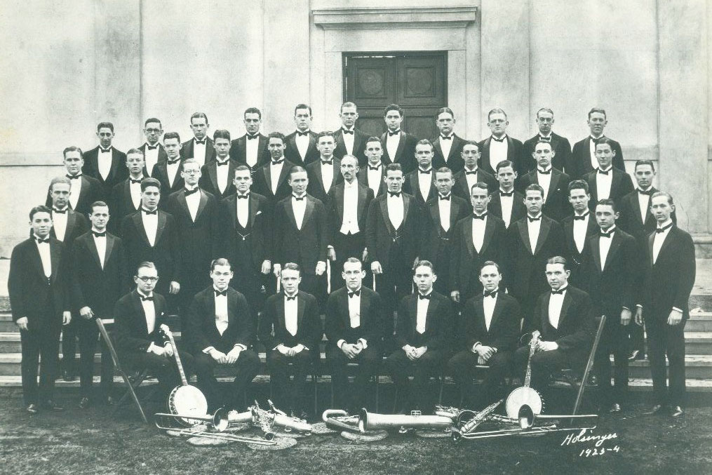 The 1923-1924 UVA Glee Club (Photo courtesy of the Glee Club)