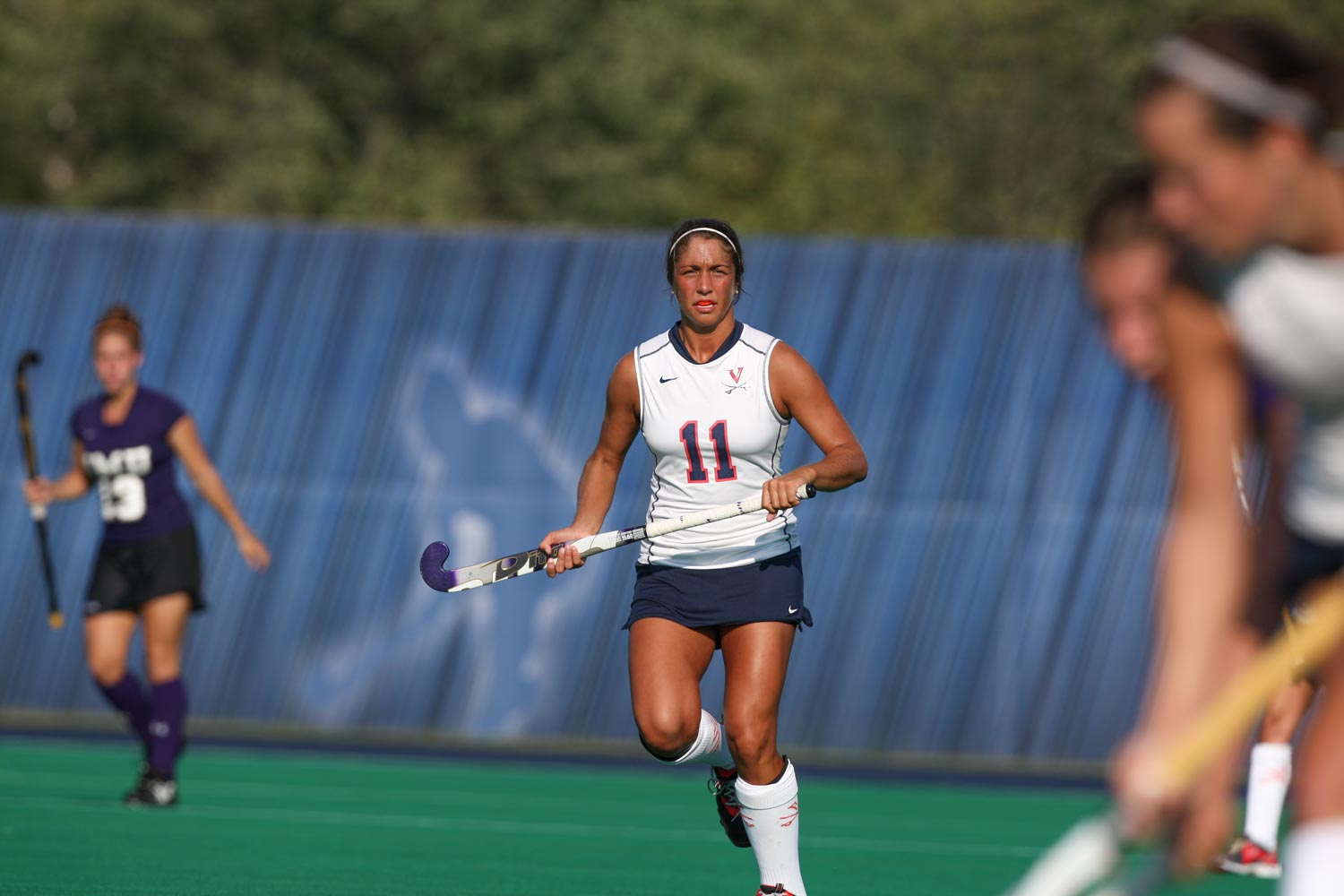 Phoebe Willis played four years on the UVA field hockey team.