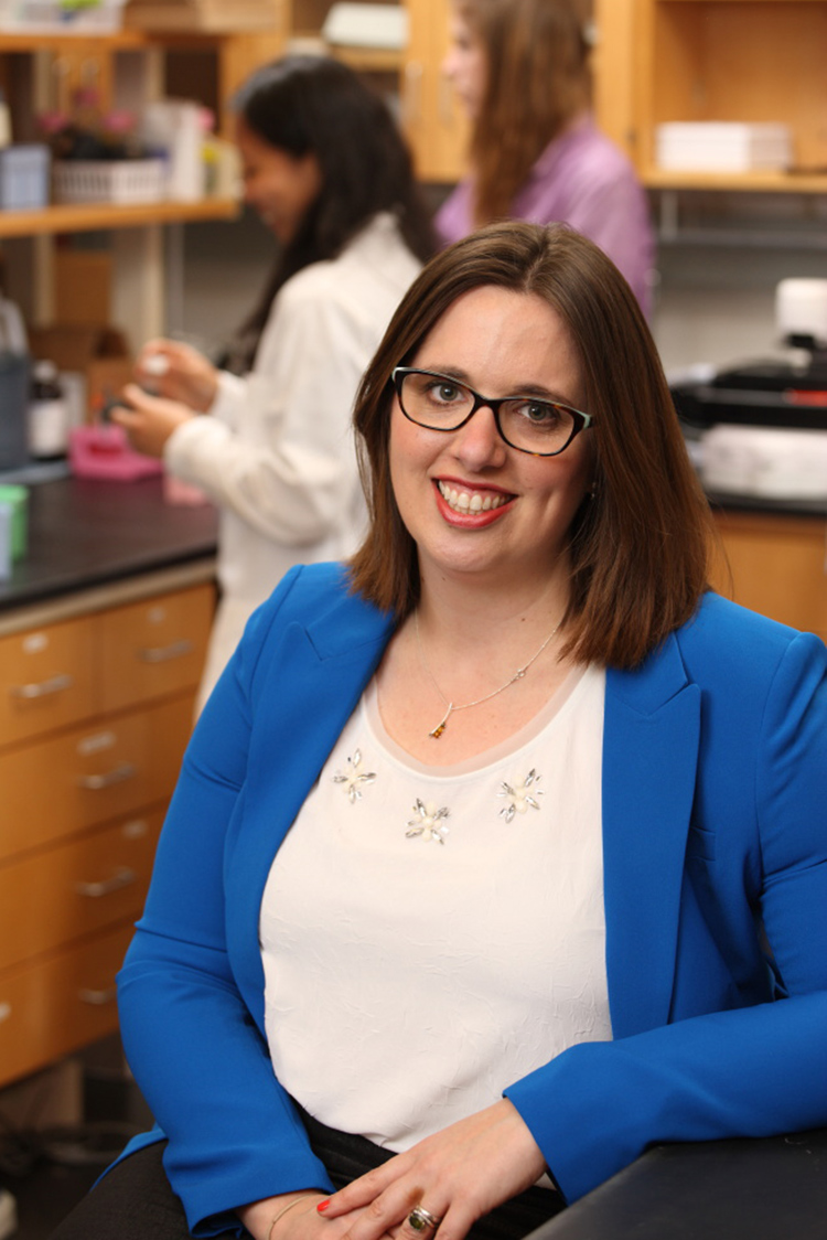 Jennifer Munson is the third from UVA to win the Biomedical Engineering Society's Young Investigator Award, joining colleagues Shayn Peirce-Cottler and Kevin Janes.