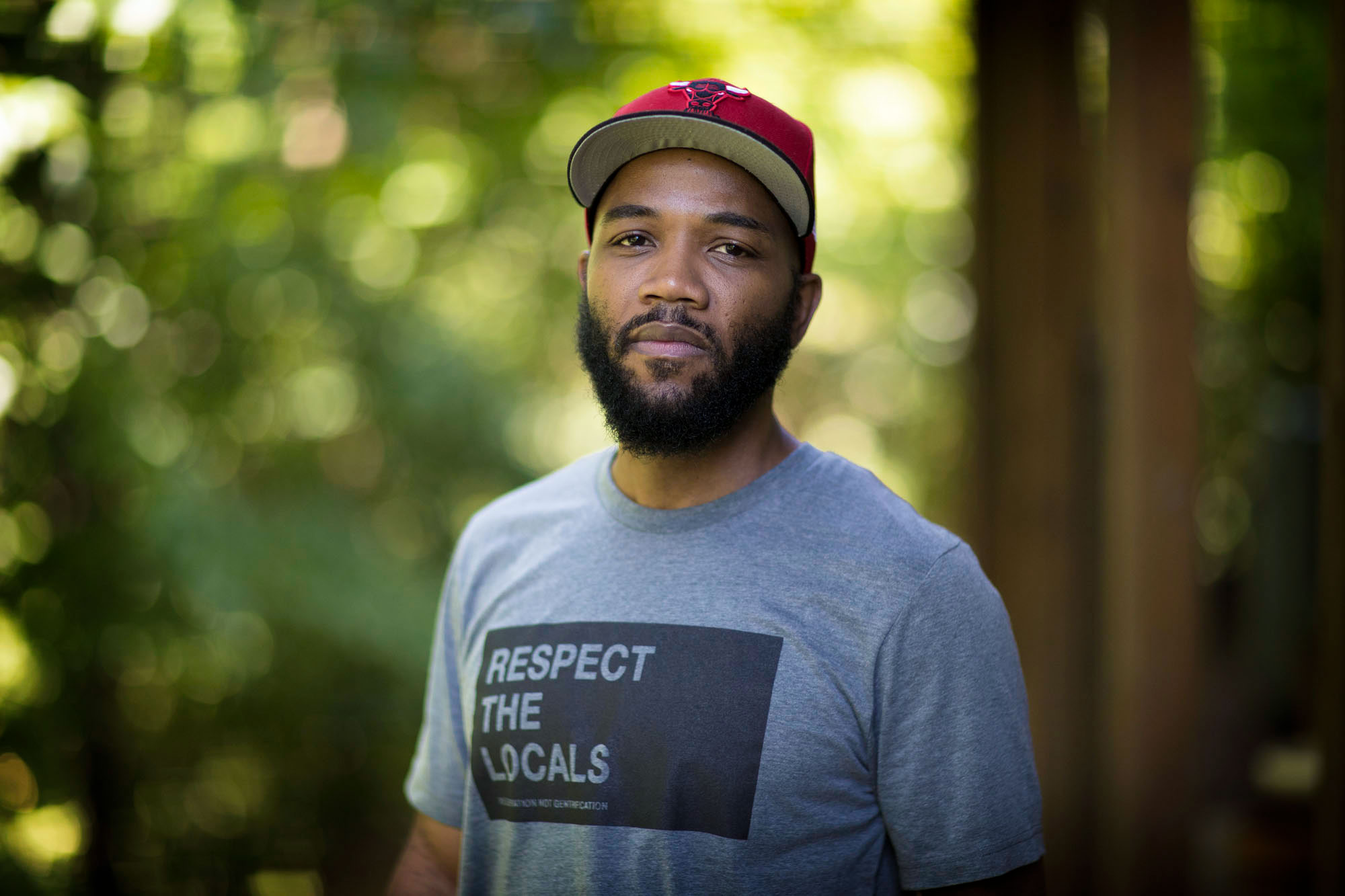 A.D. Carson joined UVA this summer as a professor of hip-hop and will begin teaching this fall.