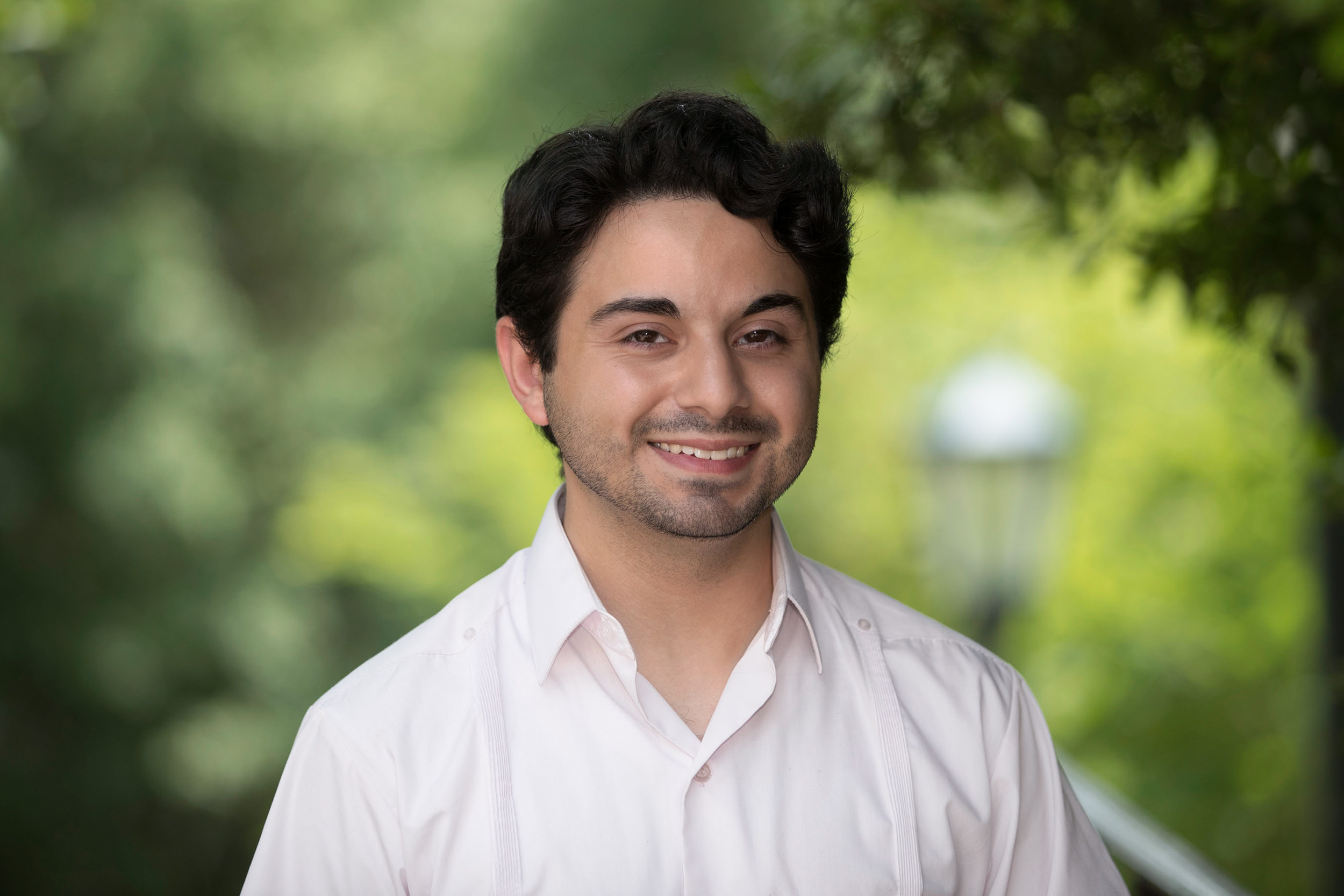 Alex Cintron graduated in May with degrees in history and government.