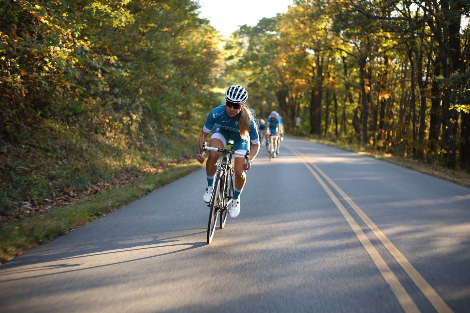 As a coach at The Miller School of Albemarle, Dvorak shares lessons learned from her successful 10-year international cycling career.