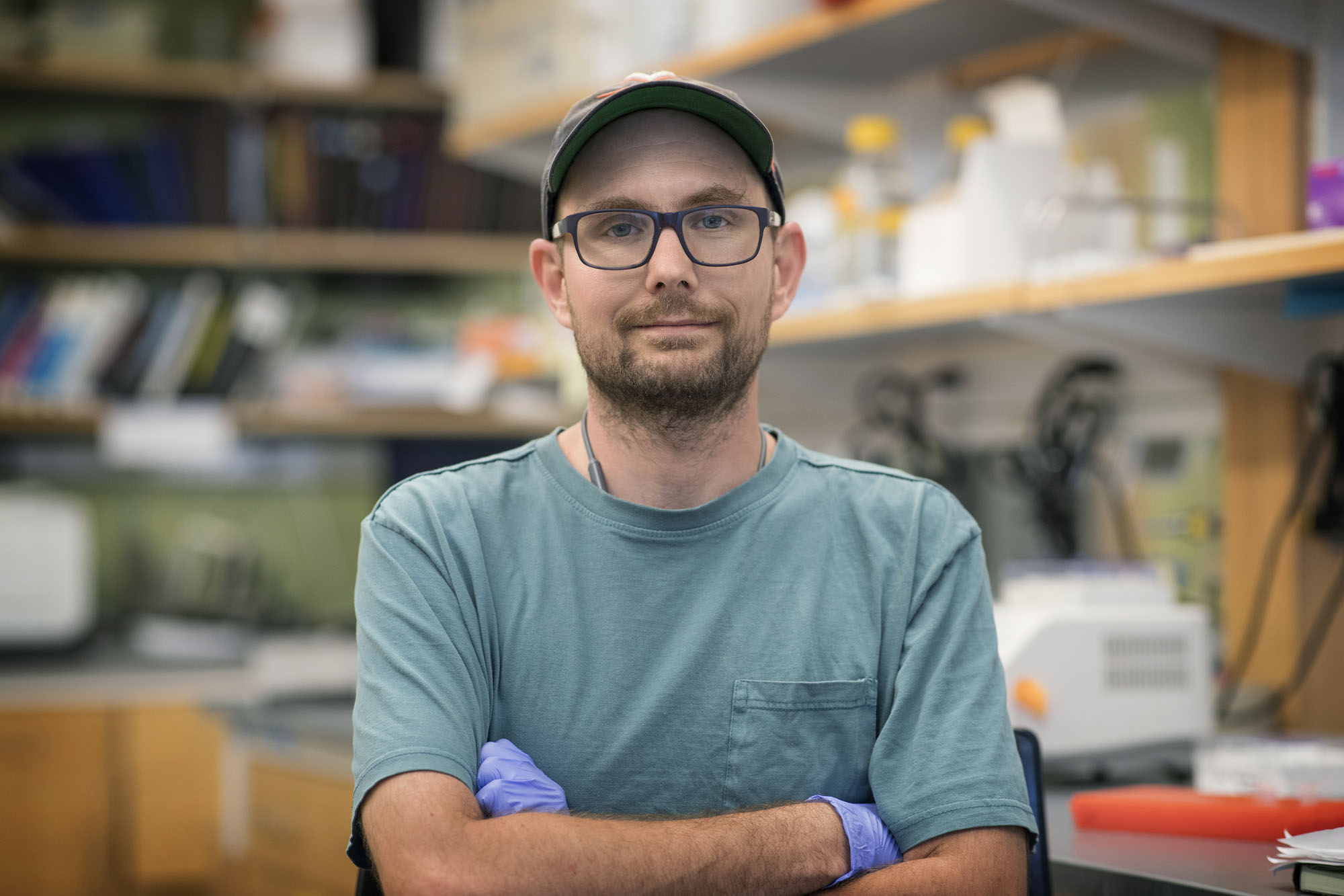 Andrew Aman, a postdoctoral researcher in biology, led the study.