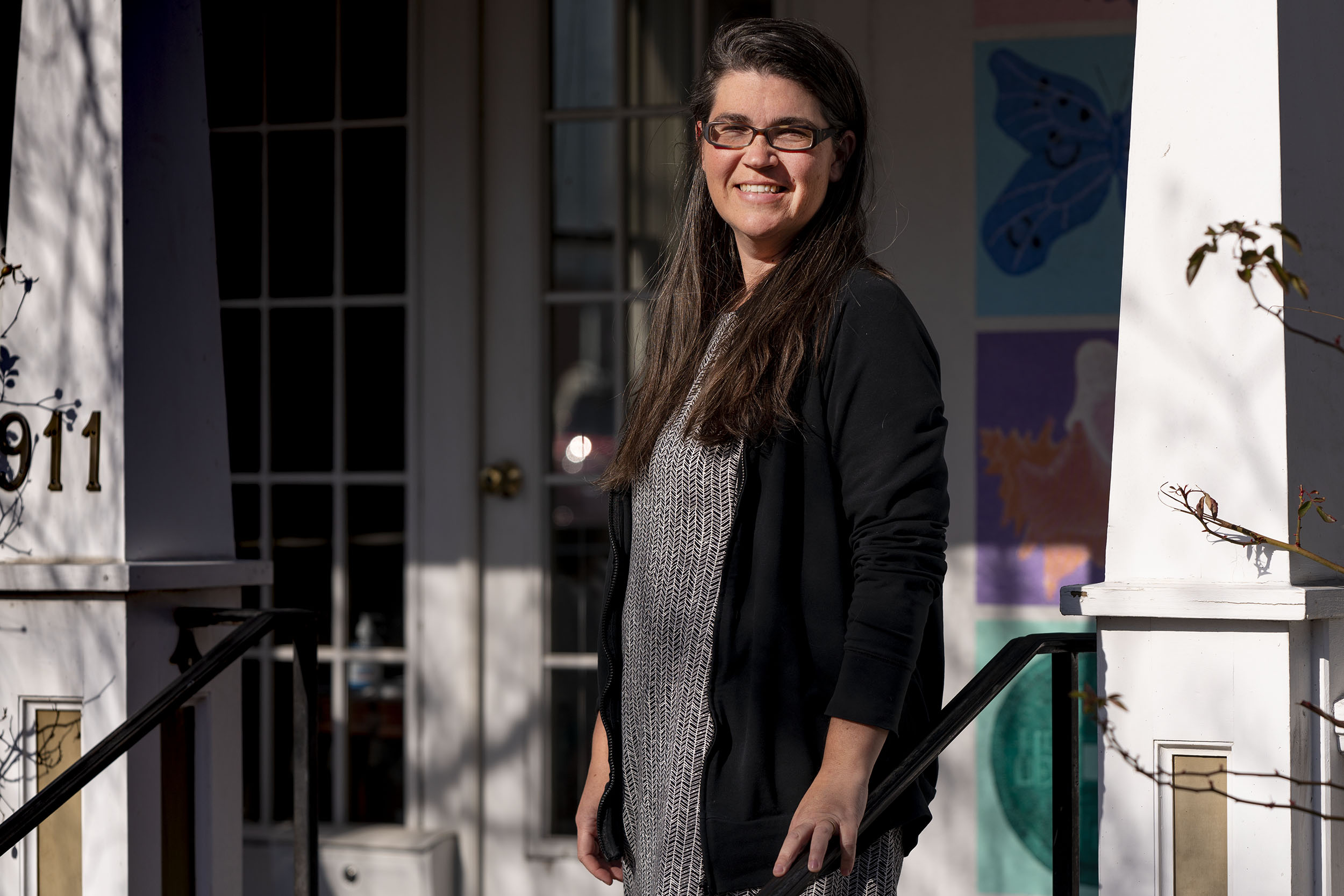Anna Mendez has served with several local and state organizations focused on reducing criminalization of mental illness. (Photo by Sanjay Suchak, University Communications)