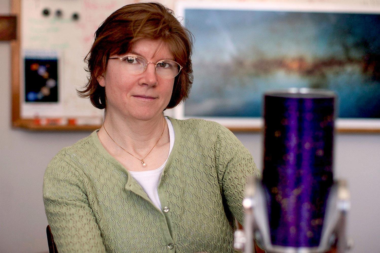 UVA planetary astronomer Anne Verbiscer