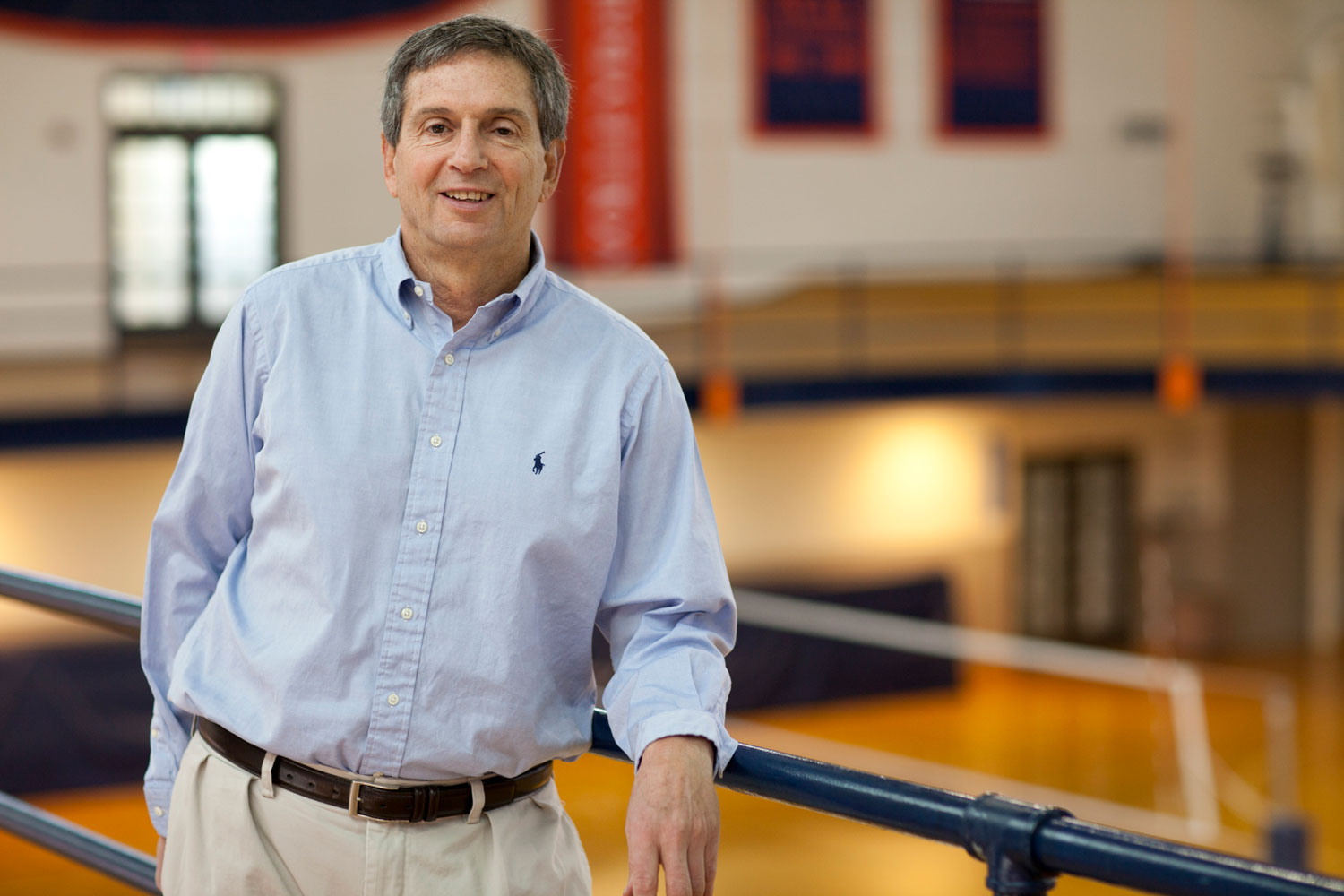 Art Weltman chairs the kinesiology department at UVA and has helped athletes of all ability levels train and prepare for races.