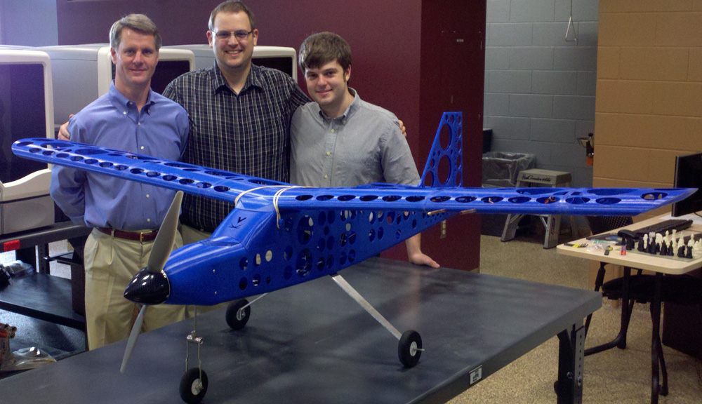 Student Engineers Design Build Fly Printed Airplane Uva Today