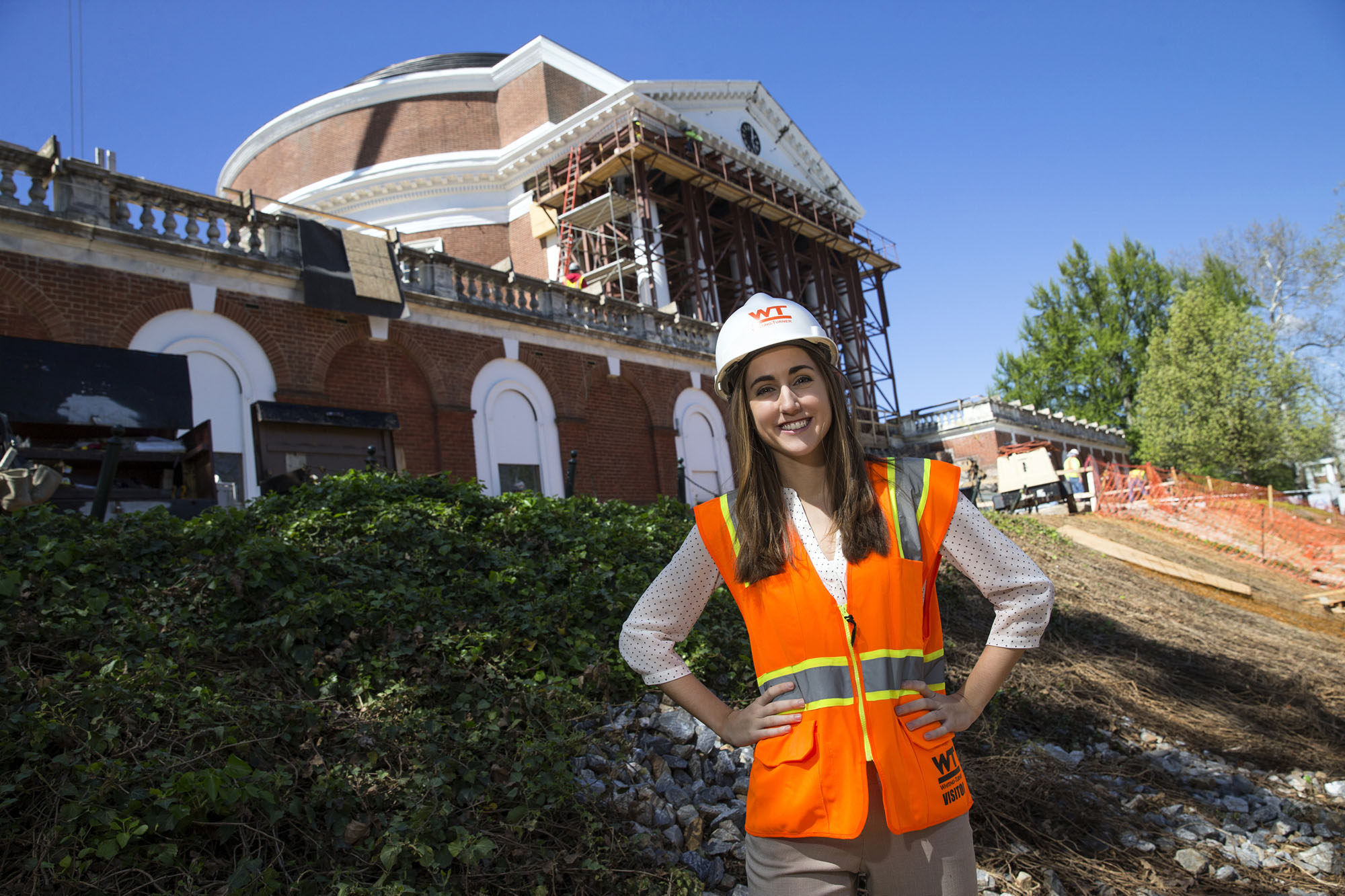 class of 2015  graduate includes rotunda renovation on resume