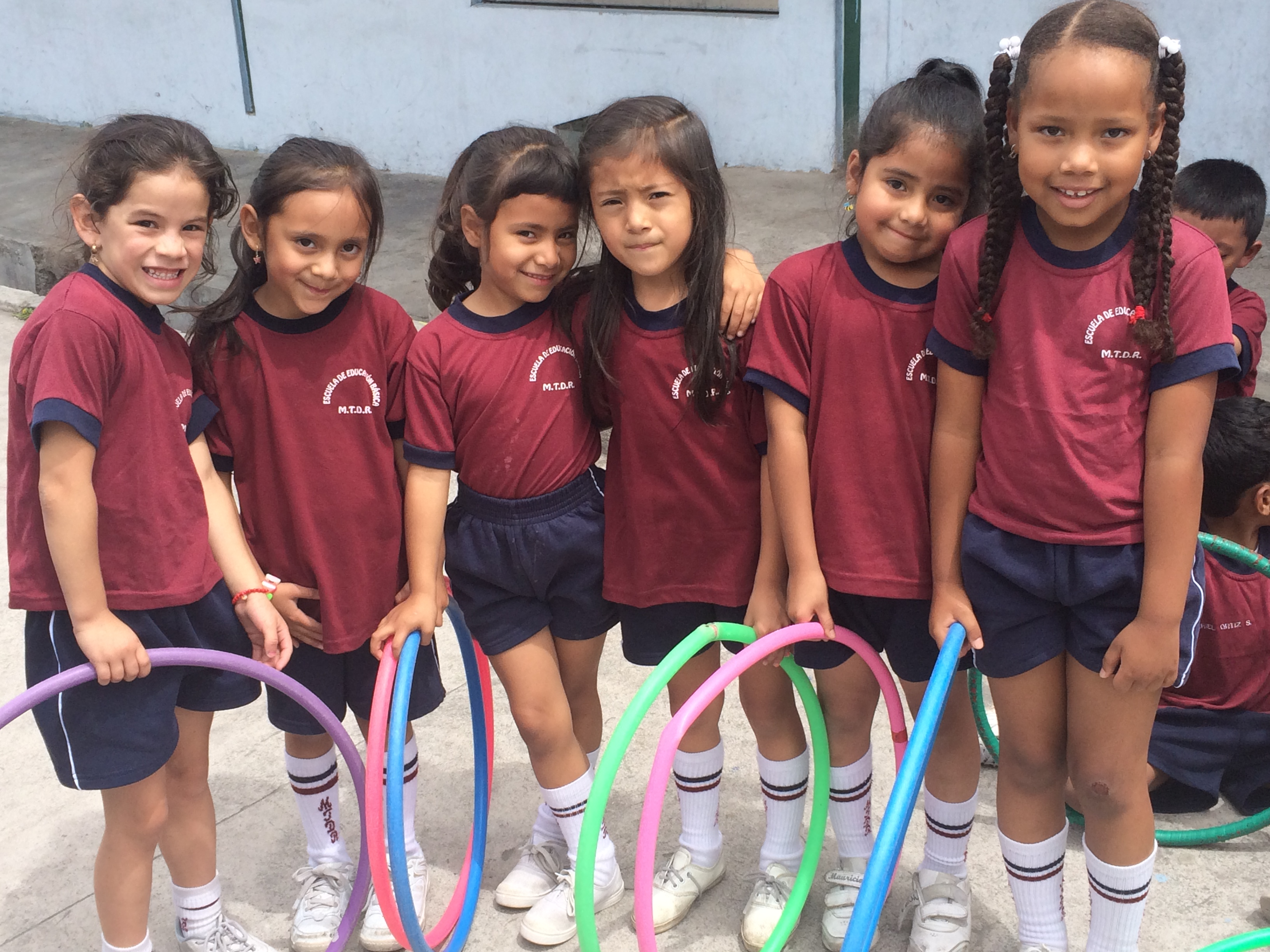 Schoolchildren in Quito, Ecuador, one of the cities where the joint Curry School-Inter-American Development Bank team evaluated teacher-student interactions.