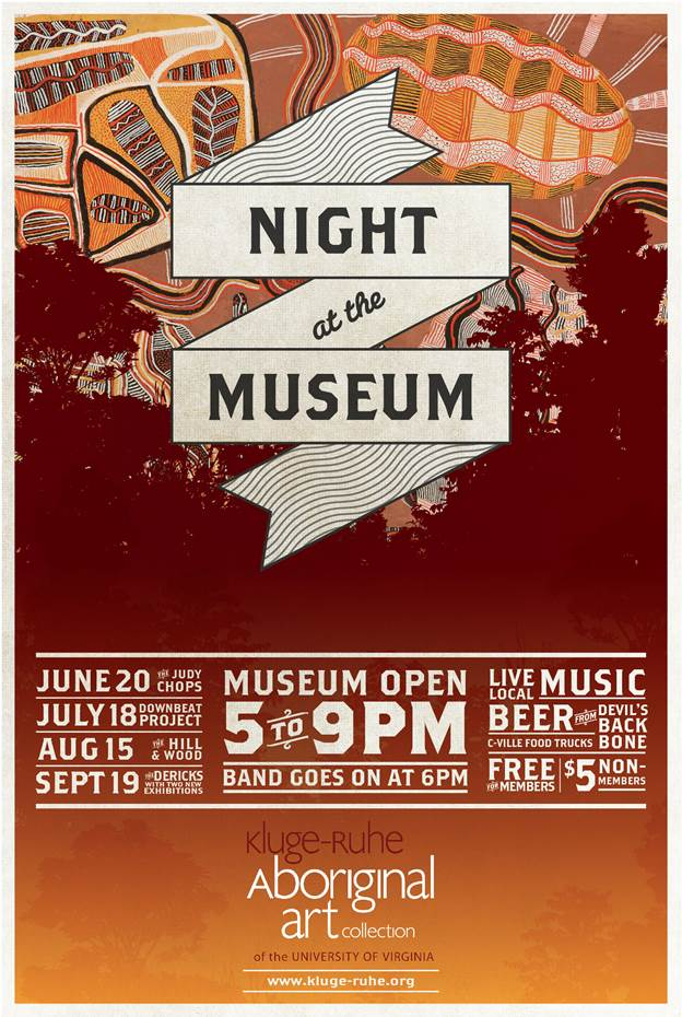aboriginal art collection will come alive during �night at