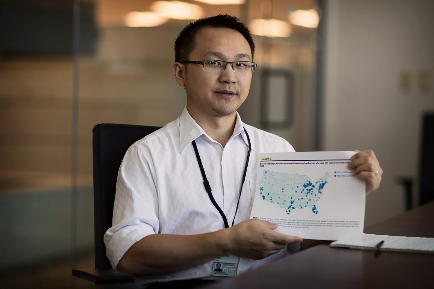 Aaron Yao, an assistant professor of public health sciences, found that too few clinicians make house calls to homebound elderly.