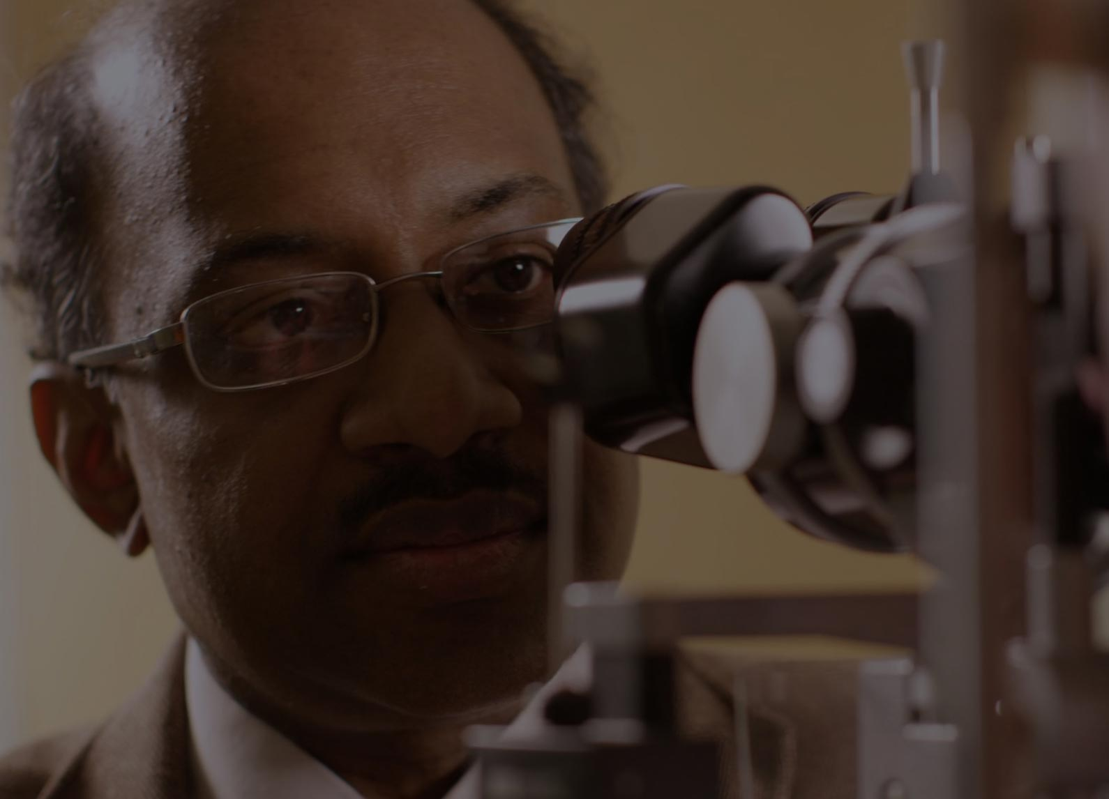 Dr. Jayakrishna Ambati is a top macular degeneration researcher in the School of Medicine and the founding director of UVA's Center for Advanced Vision Science. (UVA Health photo)