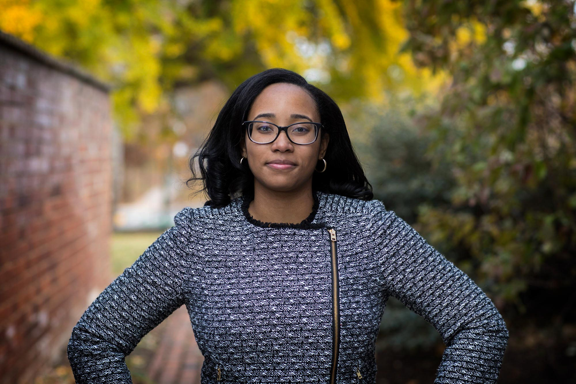 Rhodes Scholar Aryn Frazier, who graduated from UVA in 2017, will continue her education at Stanford University's Law School.
