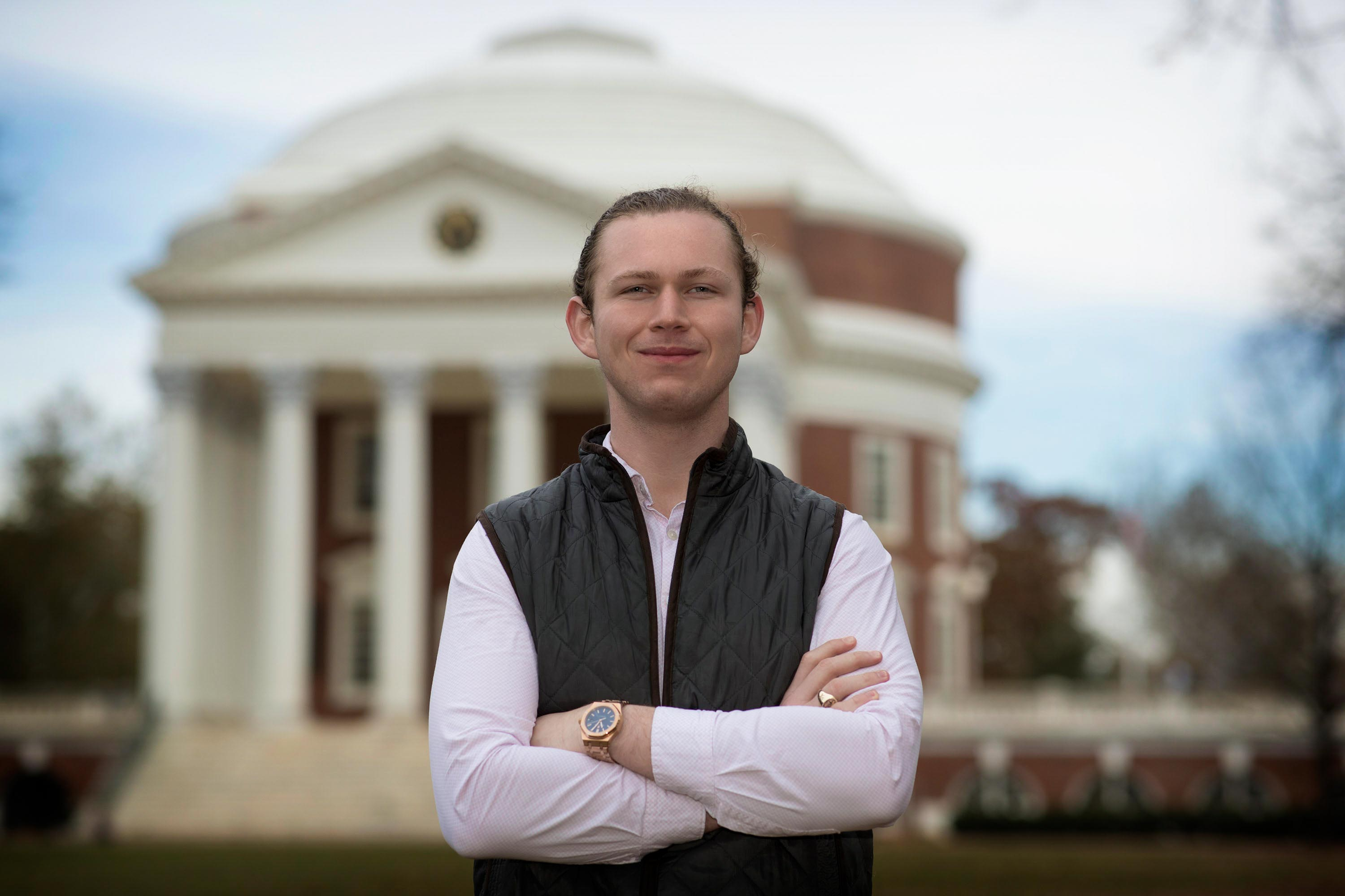 Saltville native Austin Widner has helped the University hone its outreach to students from rural areas west of Roanoke, where many students may have felt that UVA was unattainable.