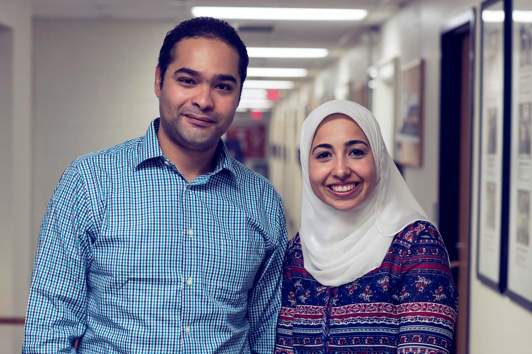 Mohamed Morsy and Bakinam Tarik Essawy are pioneering in hydroinformatics, a merging of hydrology and computer science in which vast fields of data are analyzed to create workable models.