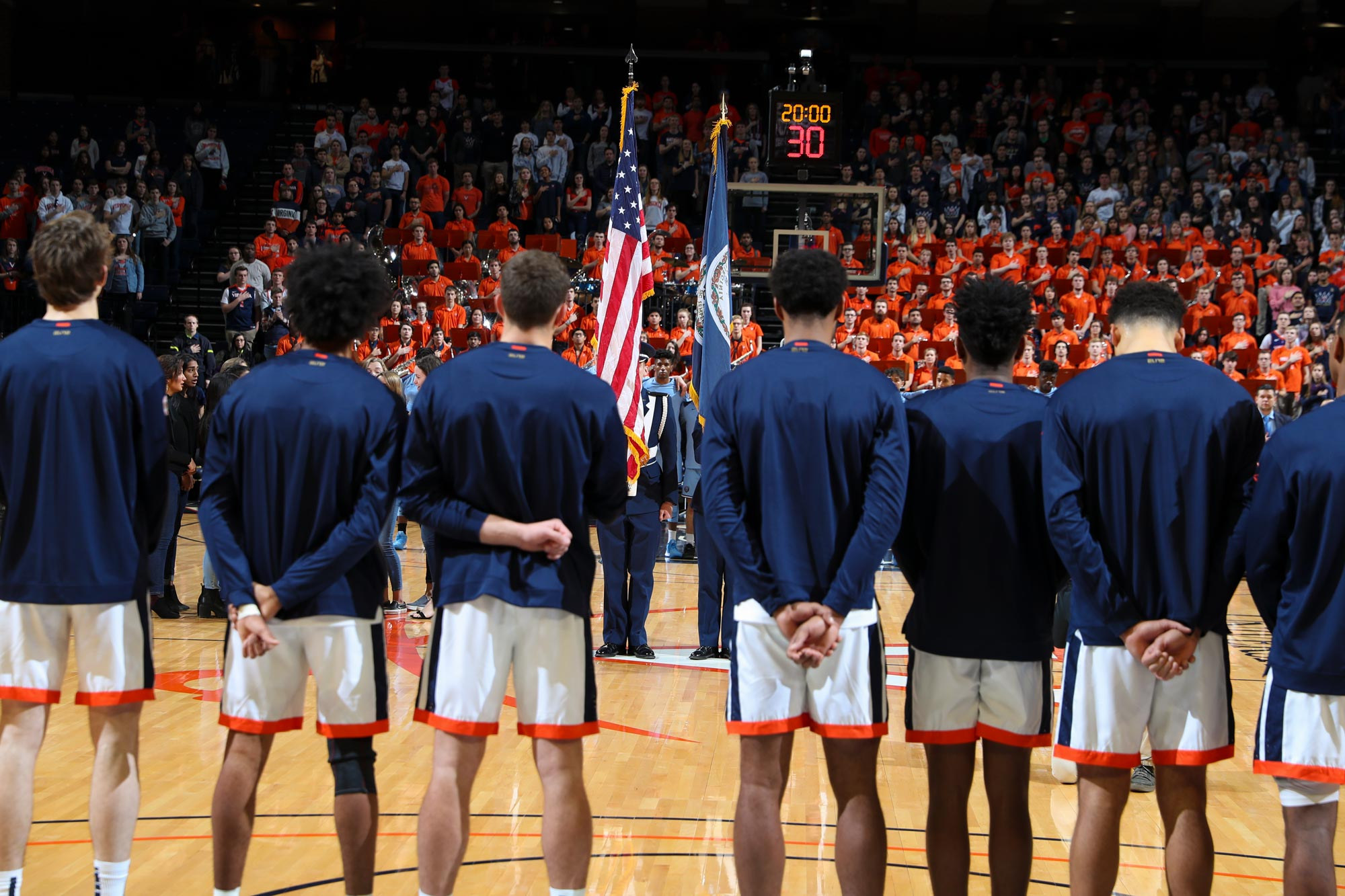 Members of the UVA basketball program pride themselves on giving back – to each other, as well as people in their communities.