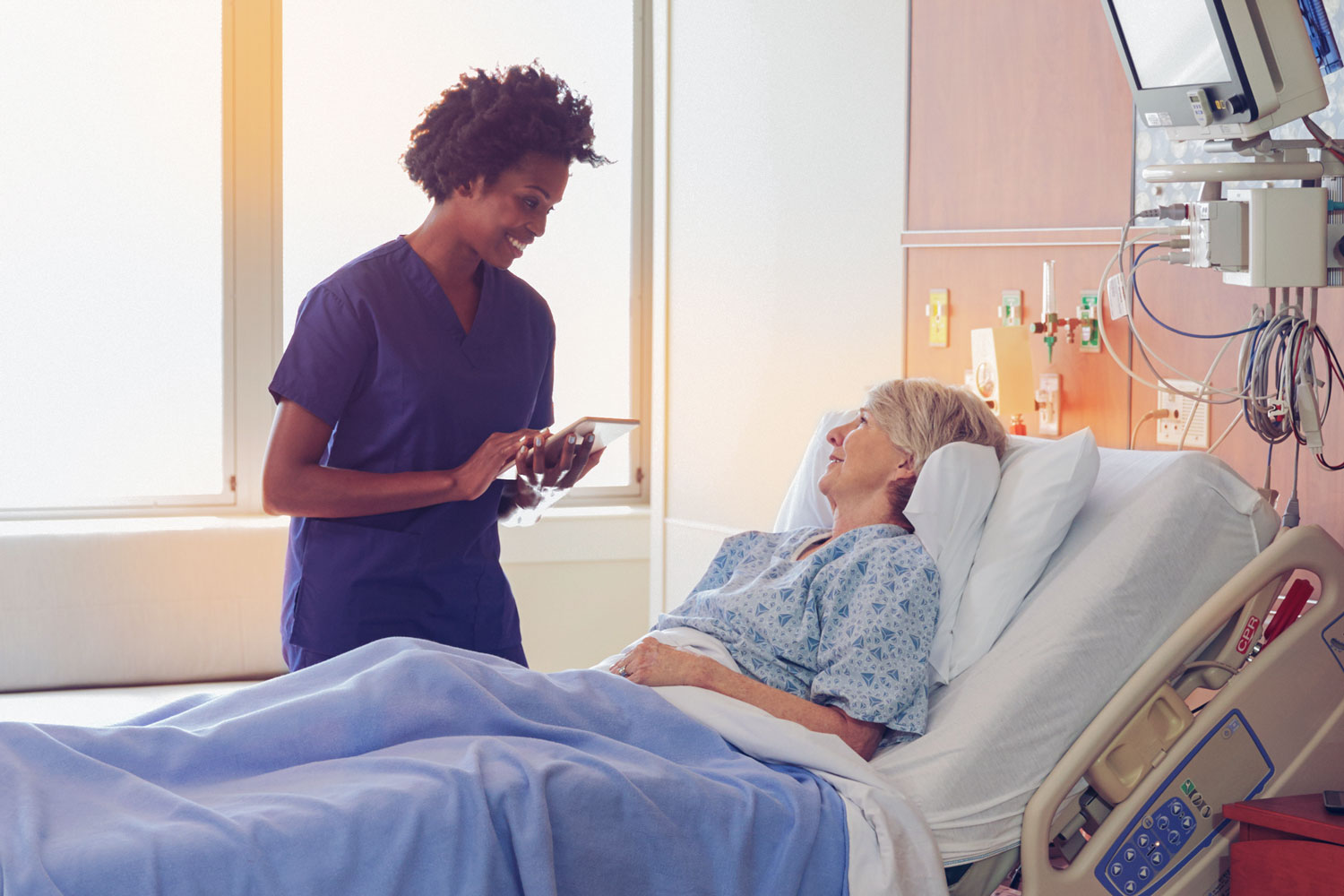 Doctors on busy units can be pressed for time, but having a plan in mind for conducting a focused conversation with their patients can make a difference for both doctors and patients.