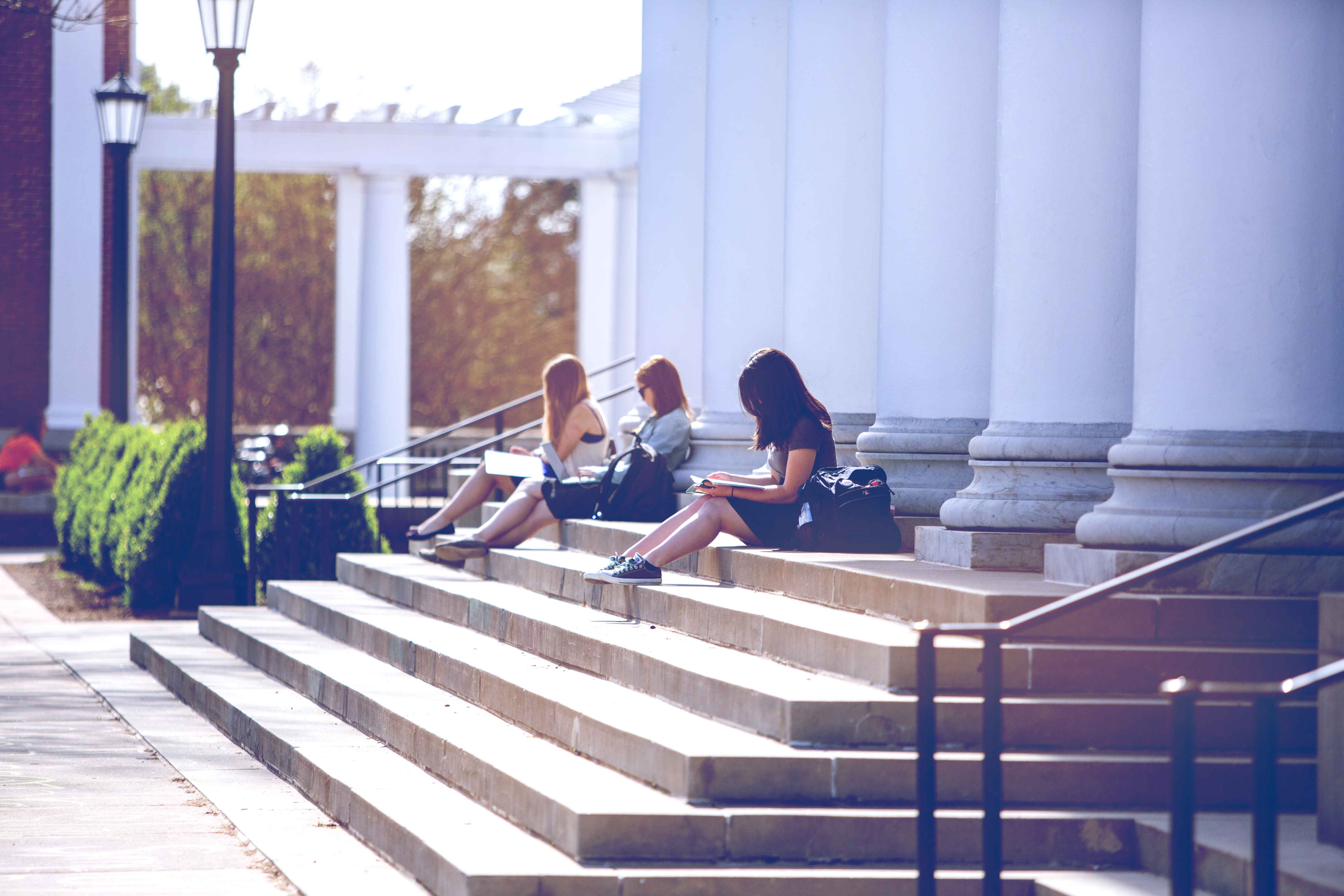 """Not only did UVA come in at No. 2 among public universities on Kiplinger's """"Best College Value"""" rankings, but it also boasted the top four-year graduation rate of any other public institution on the list at 87 percent."""