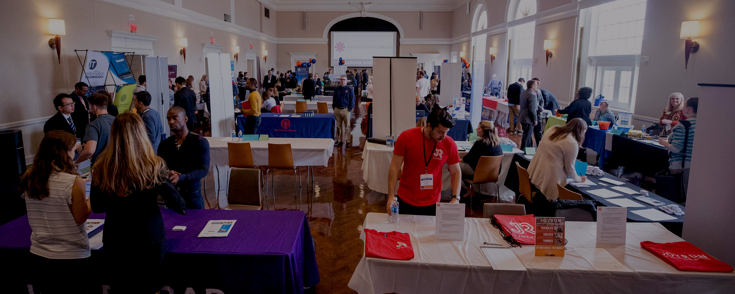 Potential Employers Descend On Grounds During Annual Career Fair