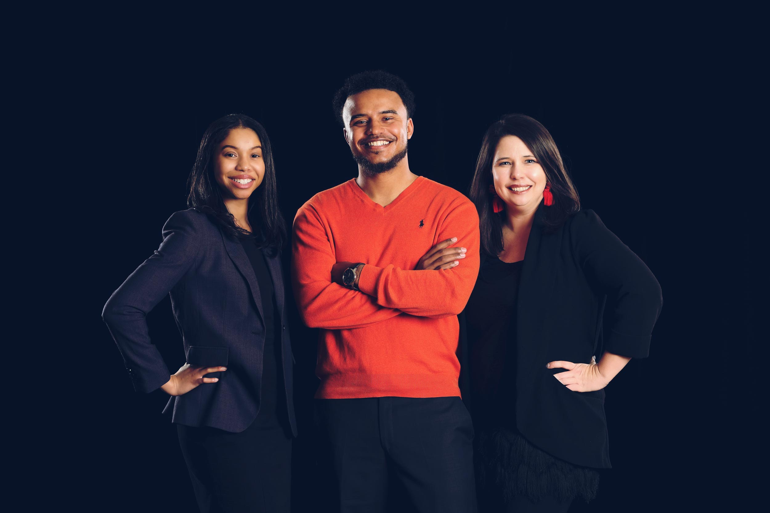UVA alumni Kiana Hairston, Rijo Walker and Allison Doughty are gearing up for this year's College Football Playoff.