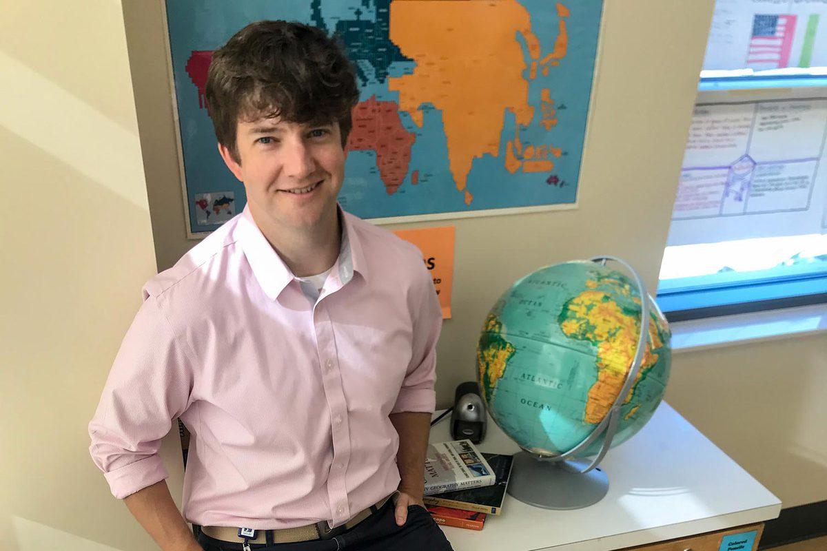 UVA alumnus Chad Prather has won numerous teaching awards while working in the Metropolitan Nashville Public School System.