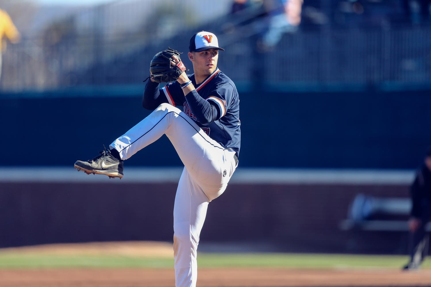 """""""I think student-athlete involvement outside of athletics is really important,"""" said Cavalier baseball player Chesdin Harrington, who has sought out experiences outside athletics during his time at UVA."""