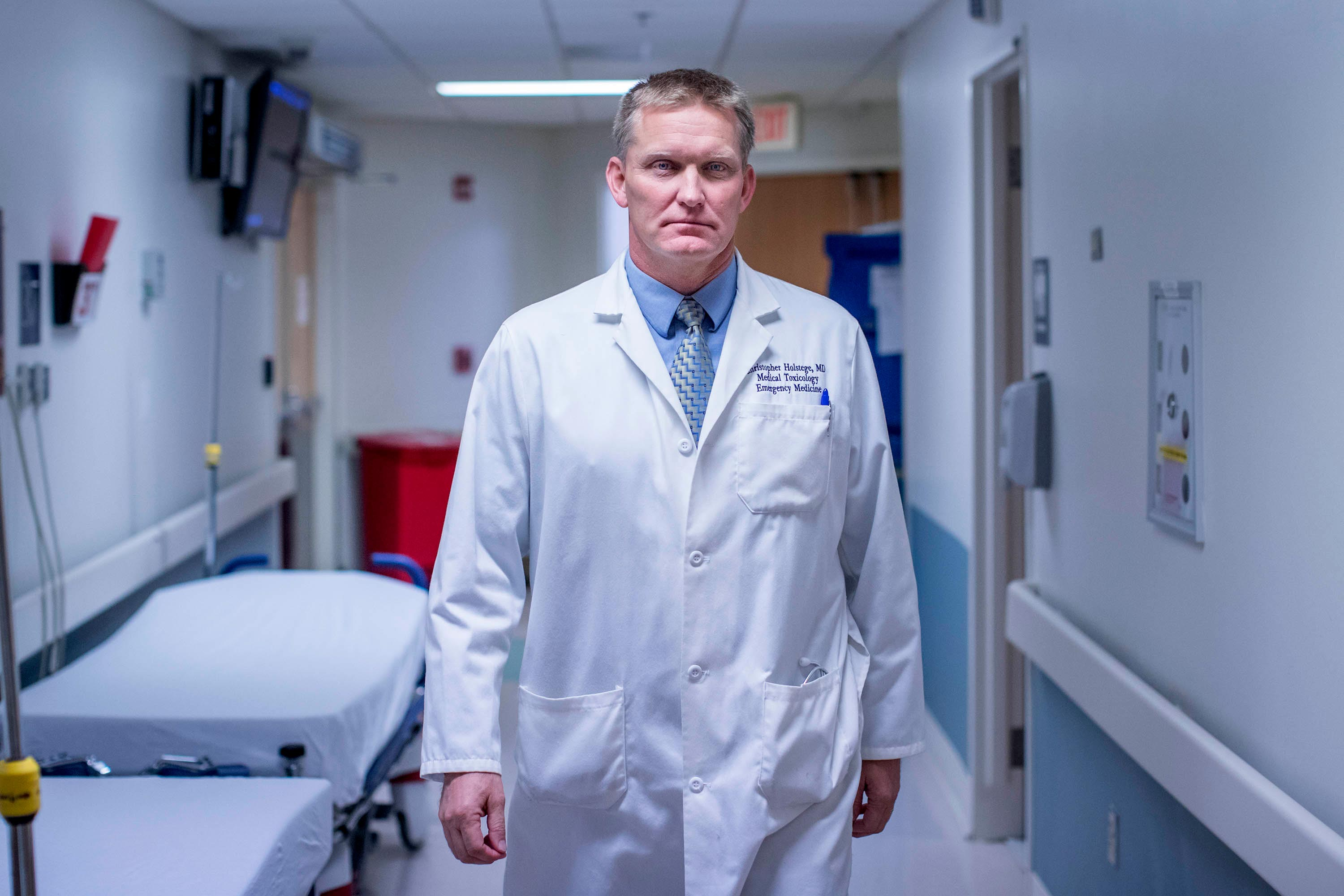 Emergency medicine physician Dr. Chris Holstege, executive director of the Student Health and Wellness Department, urges students to seek well-roundedness.