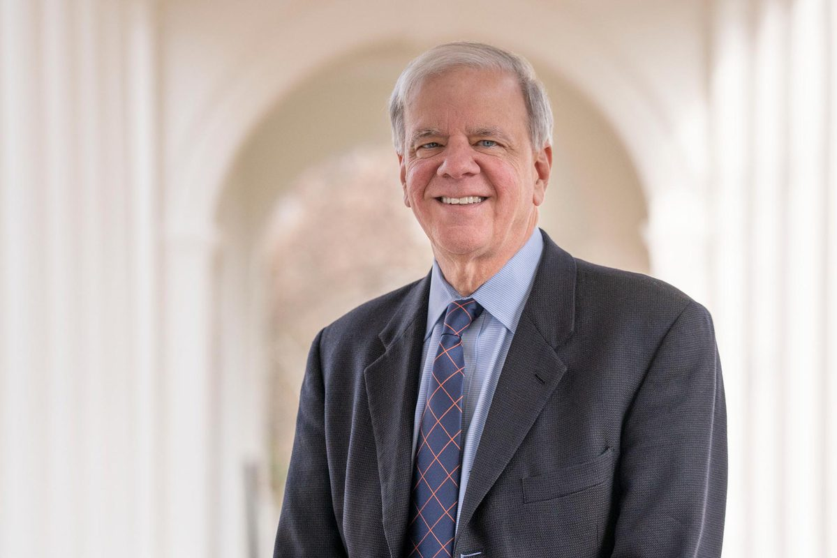 Dr. K. Craig Kent officially started his tenure as UVA's executive vice president for health affairs on Feb. 1. (Photo by Sanjay Suchak, University Communications)