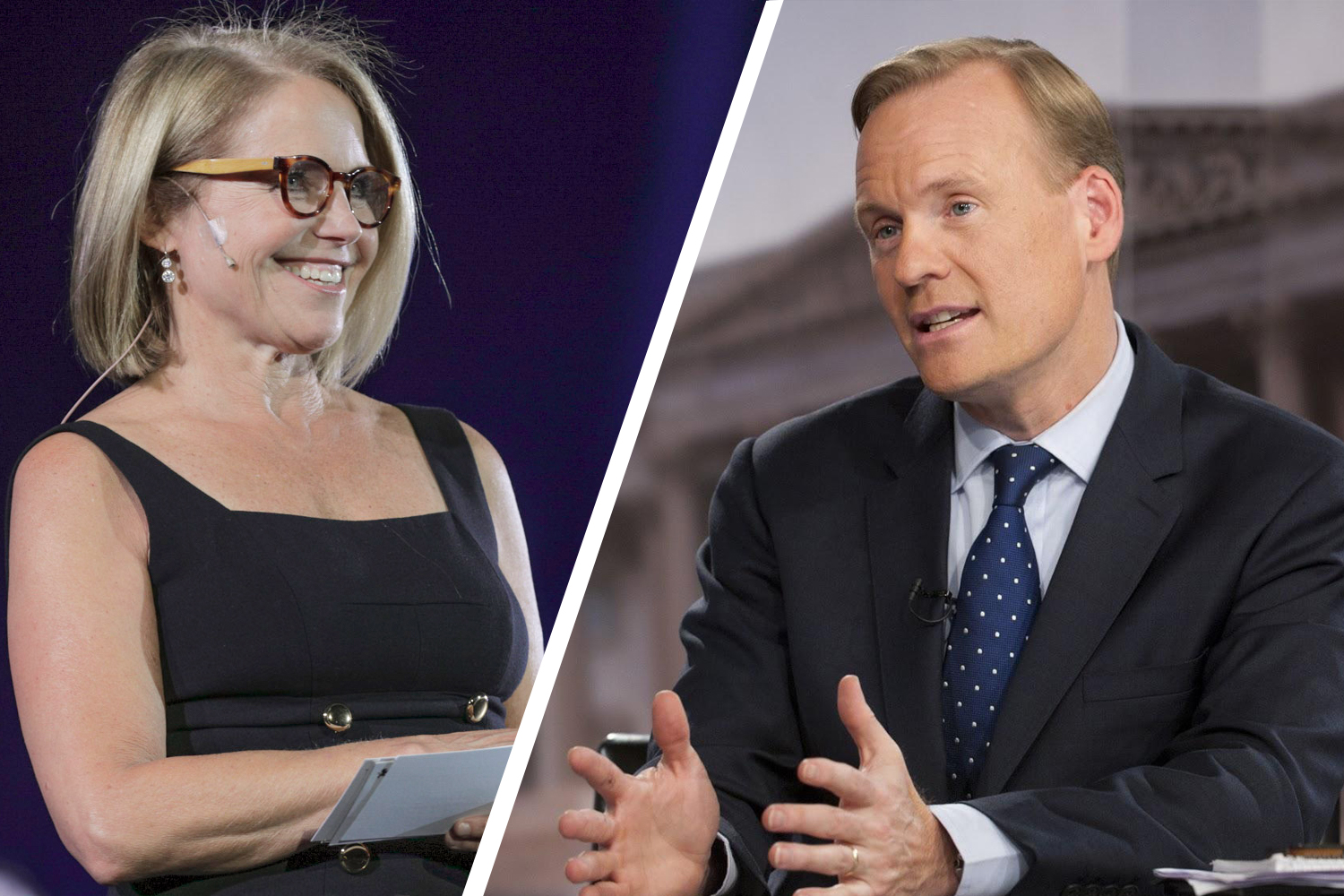Katie Couric and John Dickerson
