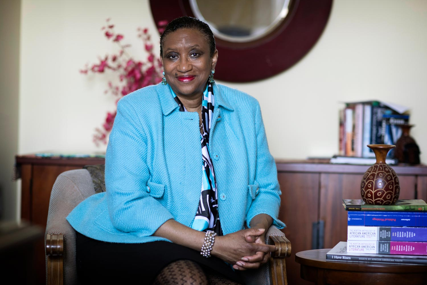 Deborah McDowell, the Alice Griffin Professor English, directs the Carter G. Woodson Institute for African-American and African Studies.