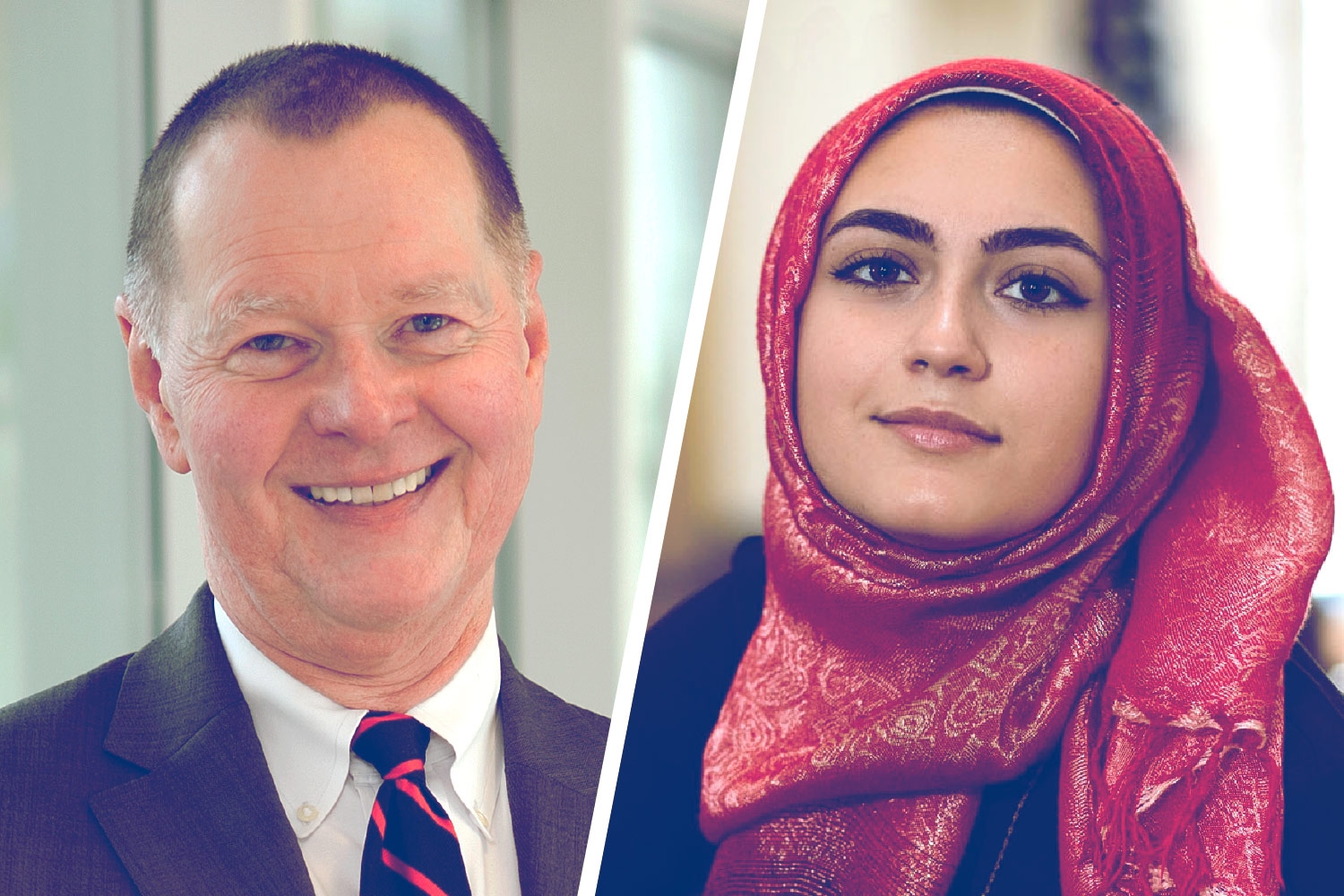Change Agents With Compassion: Student, Medical Dean Awarded for Diversity