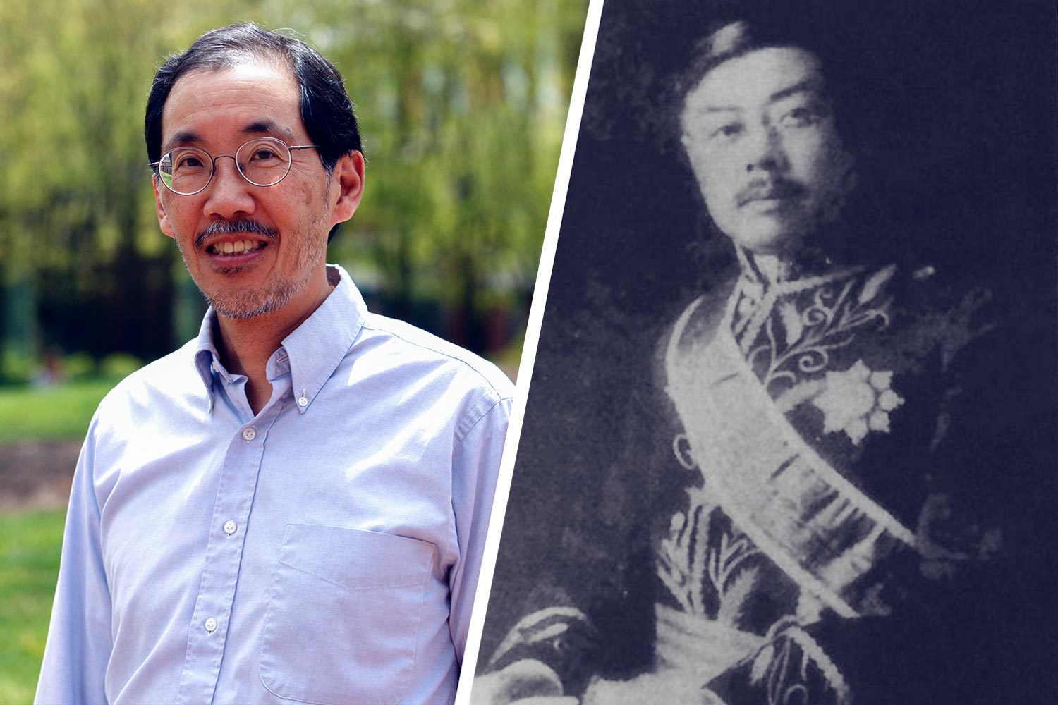 Professor George Yin recently learned he is related to W.W. Yen, aka Yan Huiqing, the late Chinese leader and former UVA student.