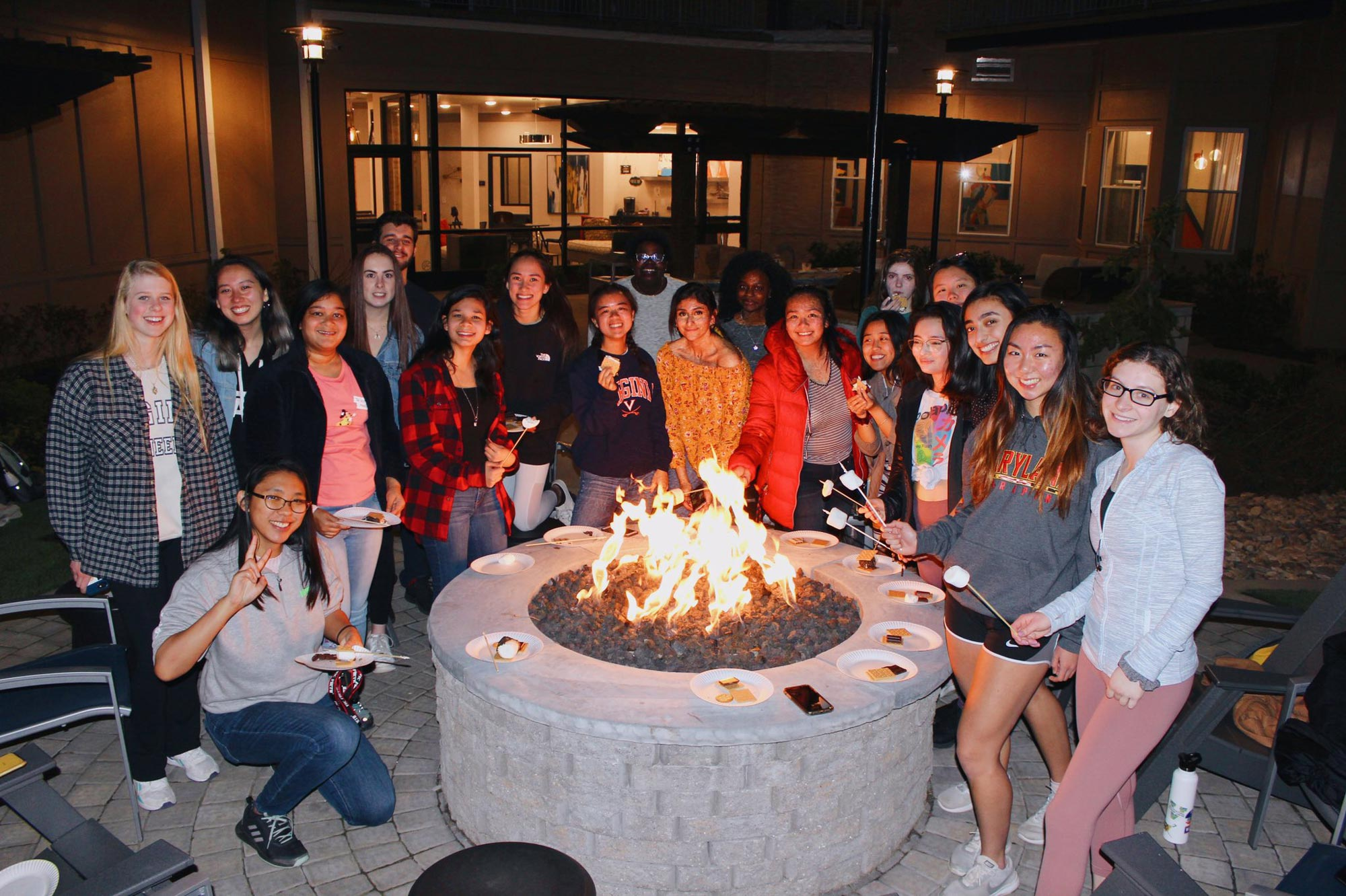 Girls Who Code, whose mission is to educate members with industry-relevant skills and to build community, gathered frequently for events like this one prior to the pandemic. (Contributed photo)