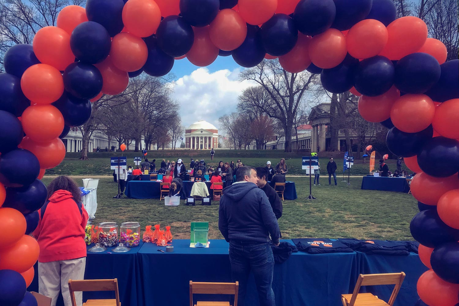 The annual day of philanthropy resulted in more than $4.4 million in support of University schools, programs and initiatives. (Photo by Dan Addison, University Communications)