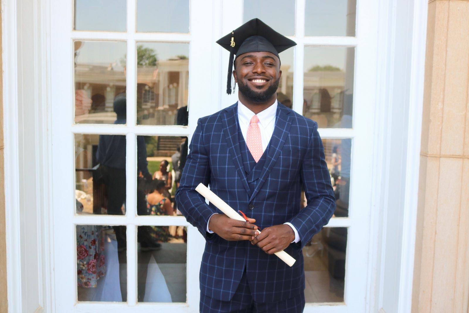 Gladimir Paul will be moving to Philadelphia, his hometown, for the School District of Philadelphia's teacher residency program.