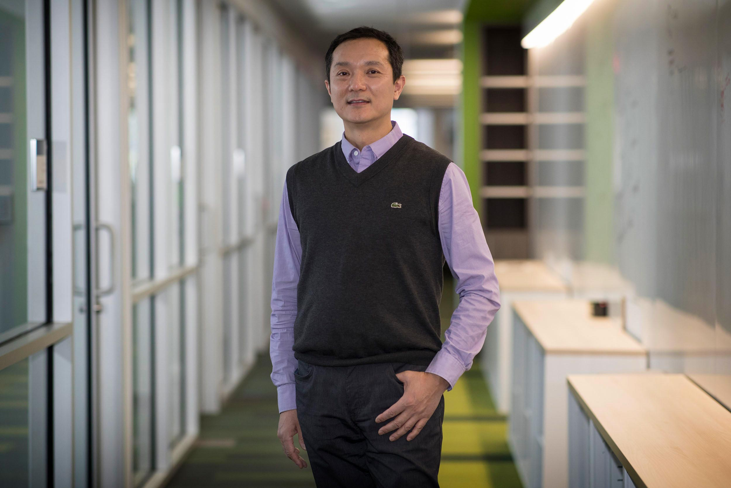 Haibo Dong, an associate professor of mechanical and aerospace engineering, applies fluid dynamics concepts to his study of snoring and sleep apnea.