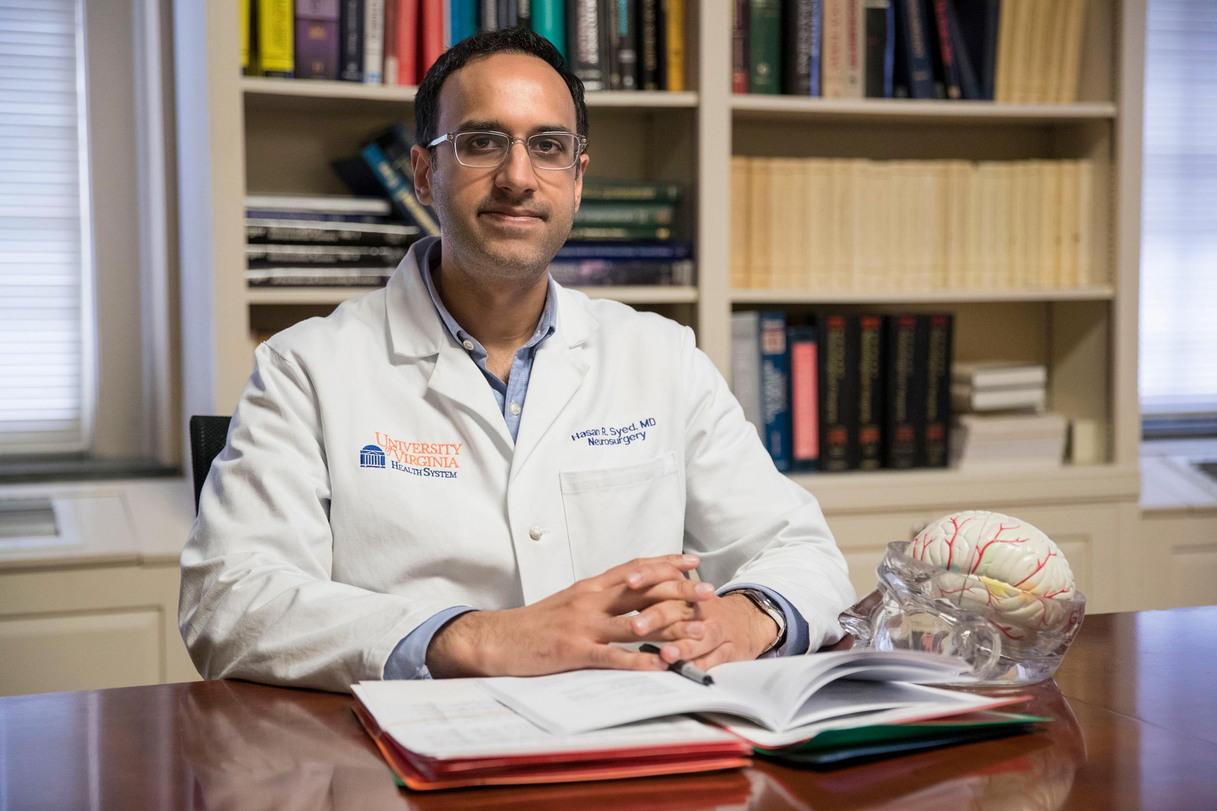 Dr. Hasan Syed co-founded the Global Brainsurgery Initiative to improve the quality of neurosurgery worldwide and educate the next generation of neurosurgeons.