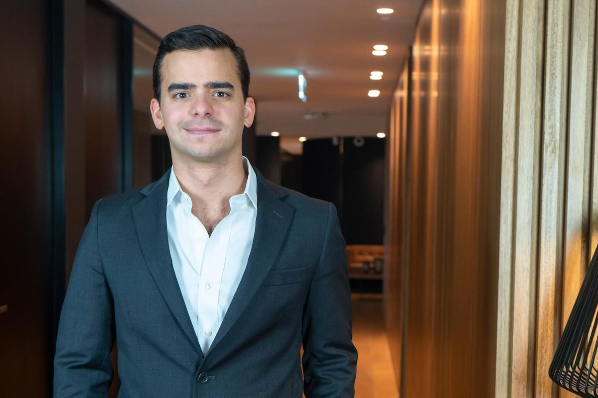 Henrique Sosa said he wants to positively contribute in the policymaking process in his native Venezuela.