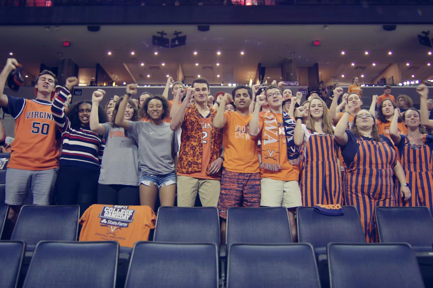 The Hoo Crew has made John Paul Jones Arena one of the most raucous college basketball venues in the nation.