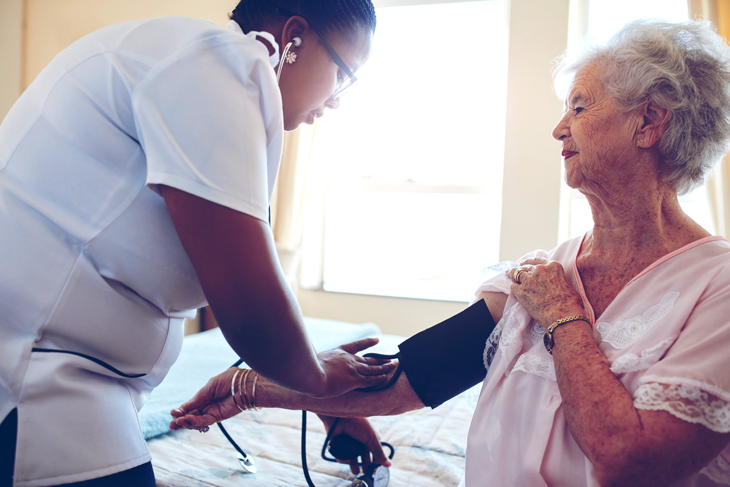 """Nengliang """"Aaron"""" Yao of the School of Medicine's Department of Public Health Sciences said nurse practitioners can fill a gap in the number of health care professionals who provide home visits – if state regulations enable them to do so."""