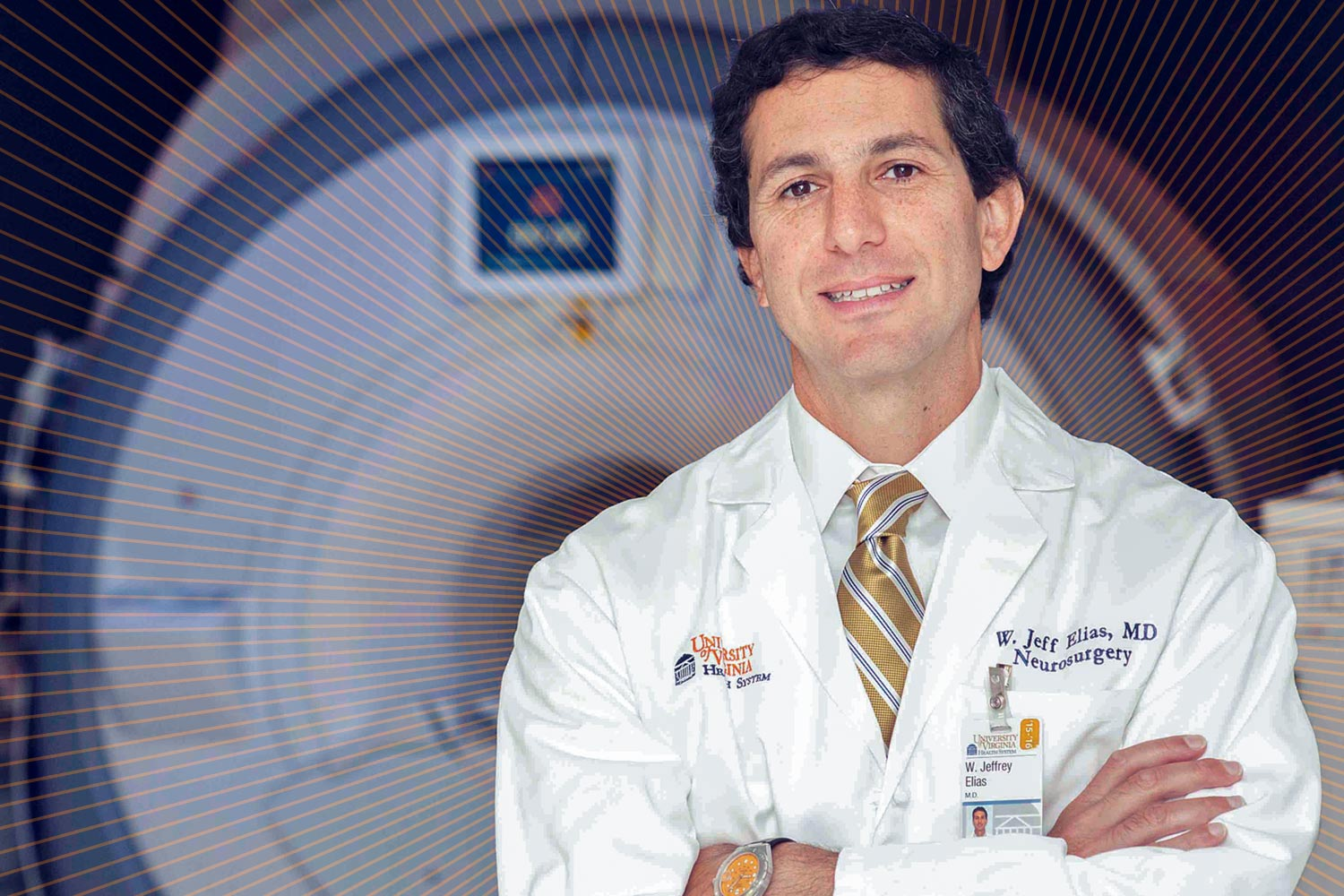 Dr. Jeffrey Elias saw his clinic change overnight with the advent of a new procedure to treat essential tremor.