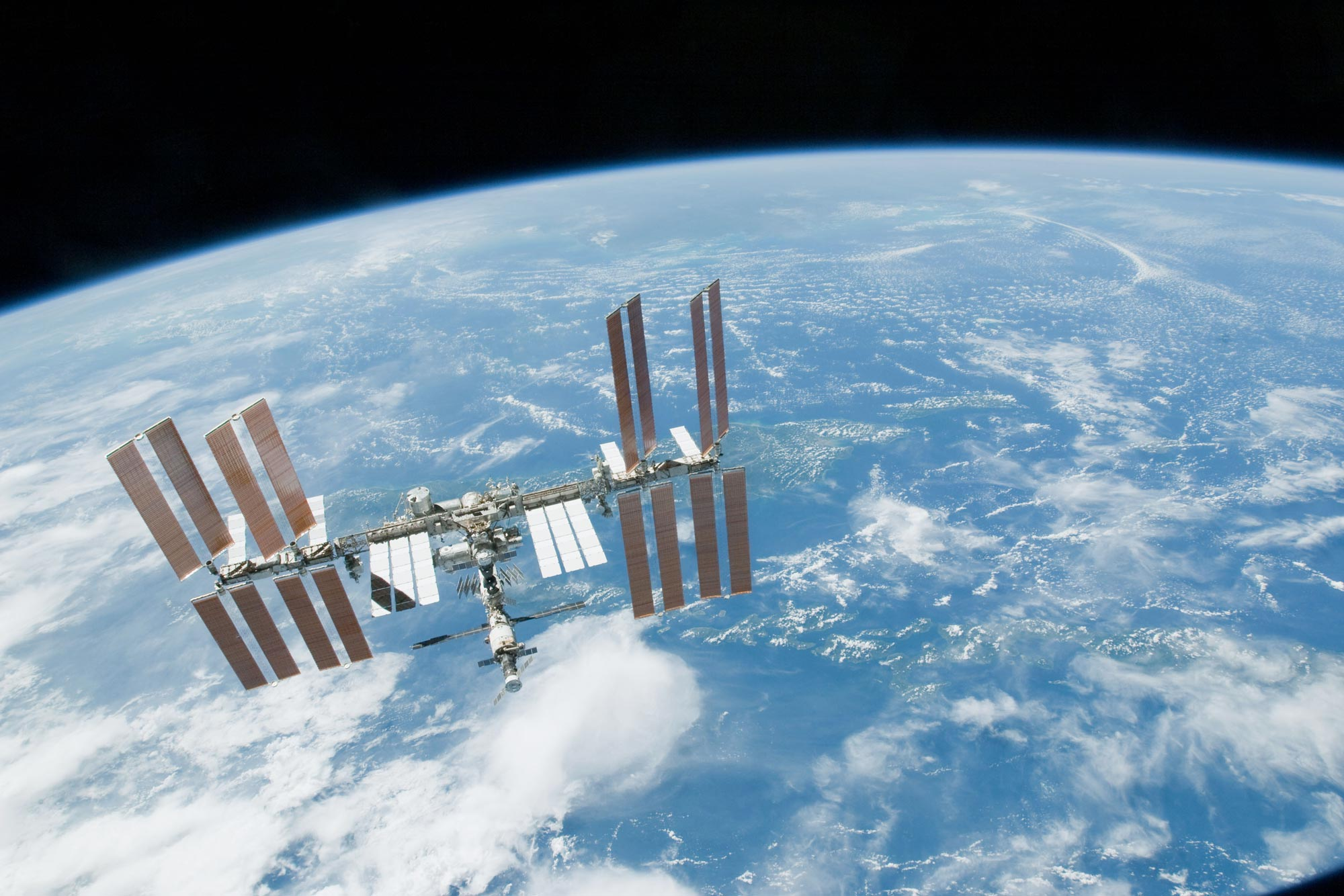 The International Space Station, with six astronauts currently aboard, will pass over Central Virginia Wednesday and Thursday evenings.