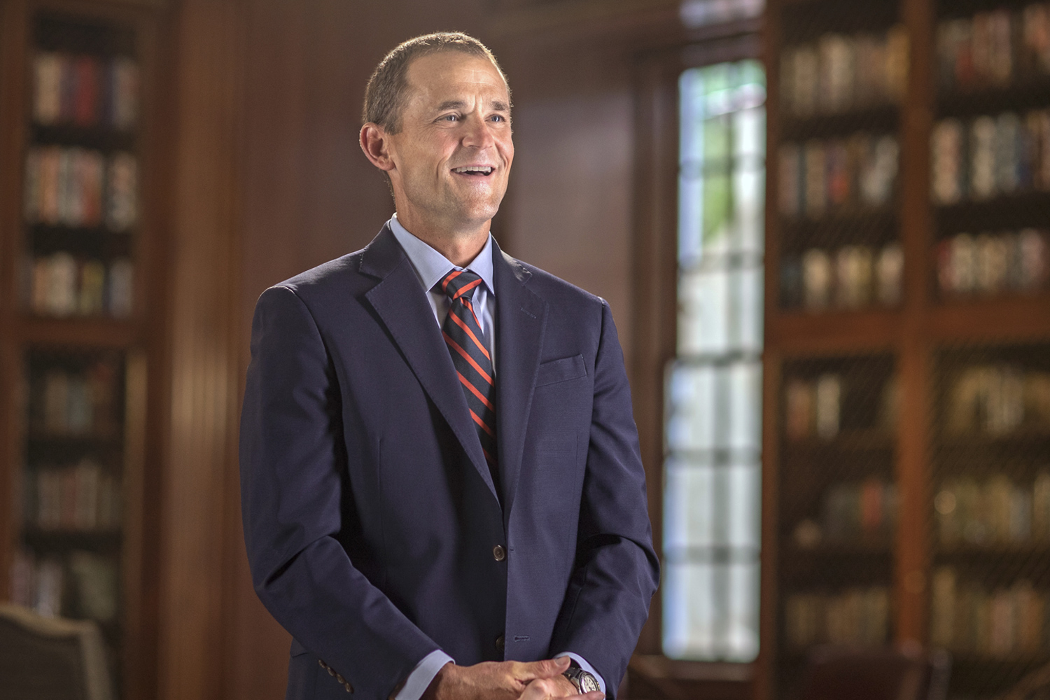 James E. Ryan earned his law degree from UVA and served on the School of Law faculty for 15 years. (Photo by Sanjay Suchak, University Communications)