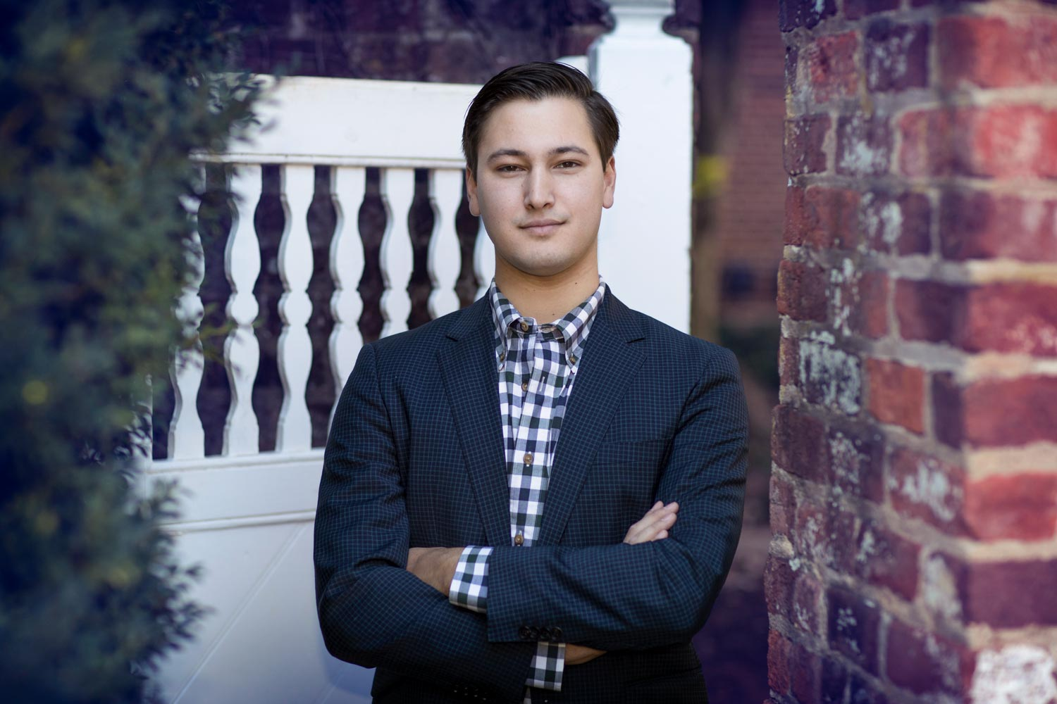 John Brake will pursue a one-year master's degree in global affairs in China with a Schwarzman Scholarship.
