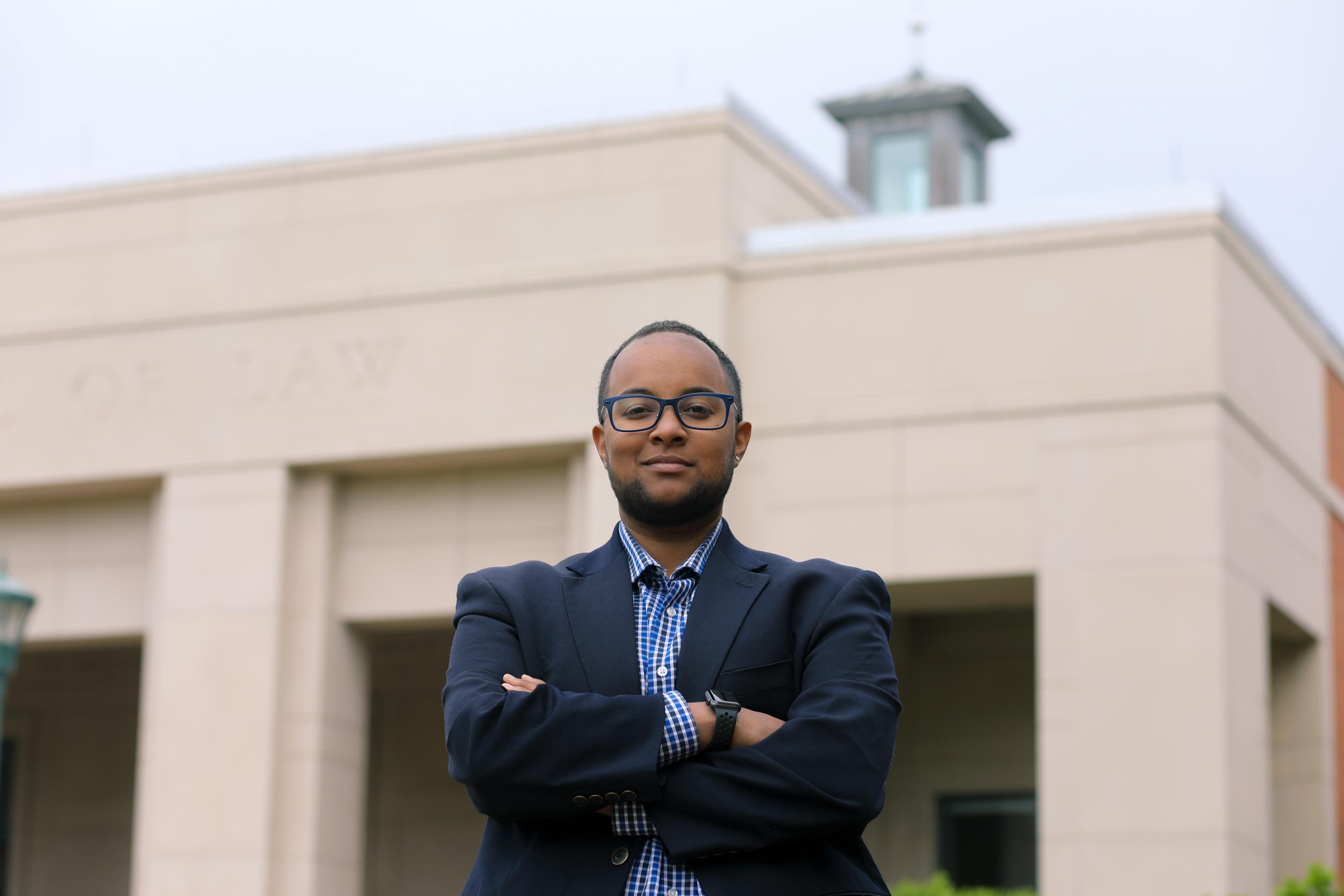 """Activist-turned-attorney Jah Akande plans to return to his native Richmond to practice law. """"I am directly connected and accountable to my community,"""" he said. """"There's so much to do."""""""