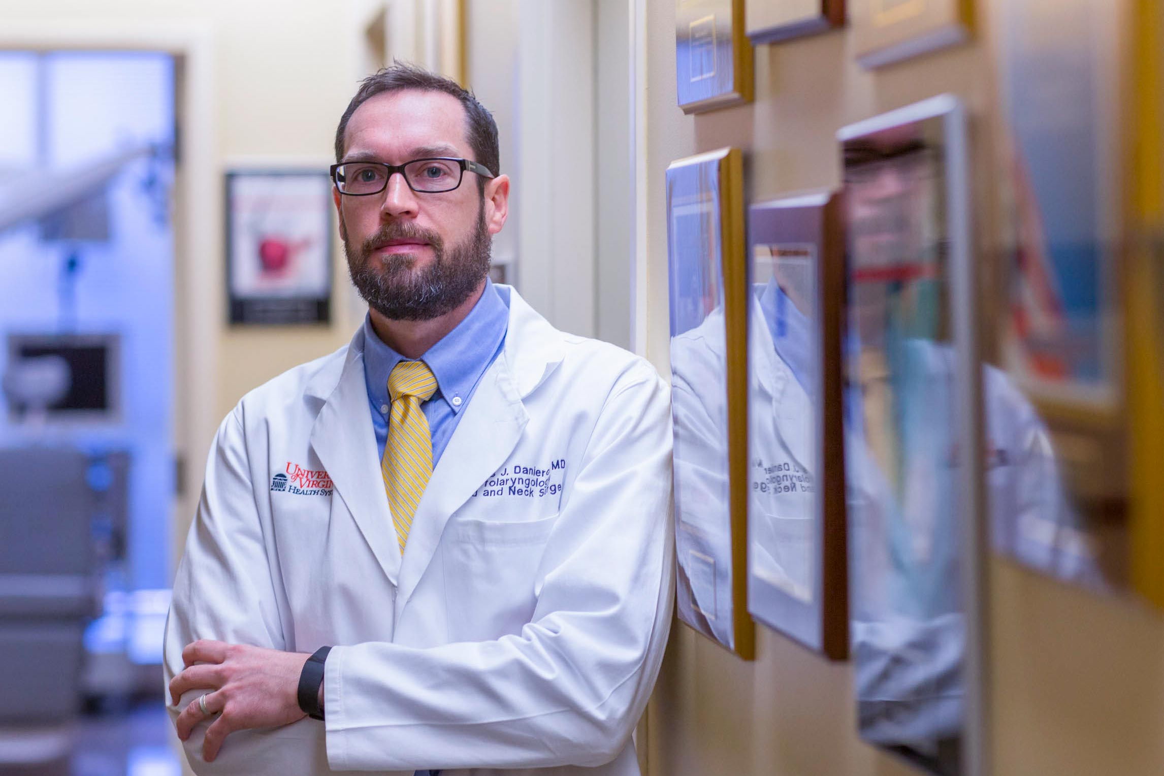 Dr. James Daniero, an otolaryngologist at the UVA Health System, is trying to bring more awareness to people with voice disorders.