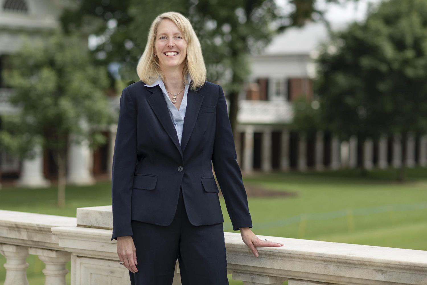 "Executive Vice President and COO Jennifer ""J.J."" Wagner Davis held similar leadership roles at George Mason University and the University of Delaware before coming to UVA."