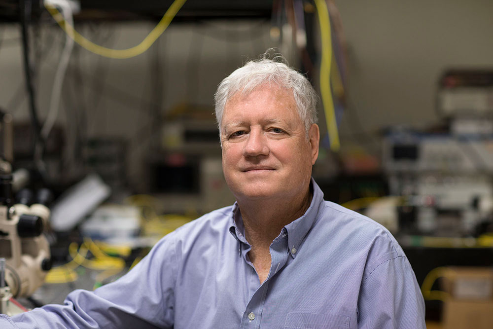 Engineering professor Joe Campbell has been changing the world of telecommunications for more than four decades and he's on the verge of another major breakthrough.